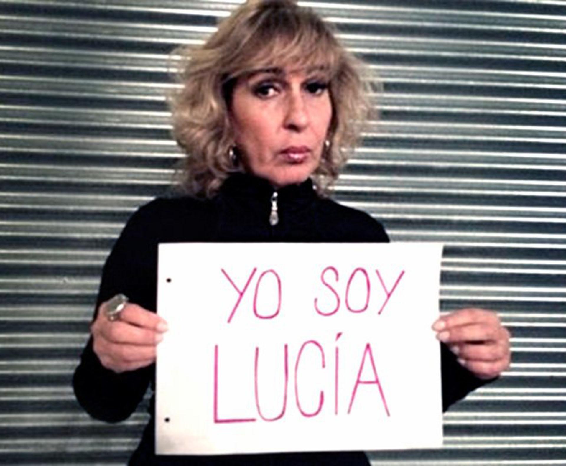 Georgina Barbarossa haciendo referencia a Lucía Pérez, asesinada en Mar del Plata.