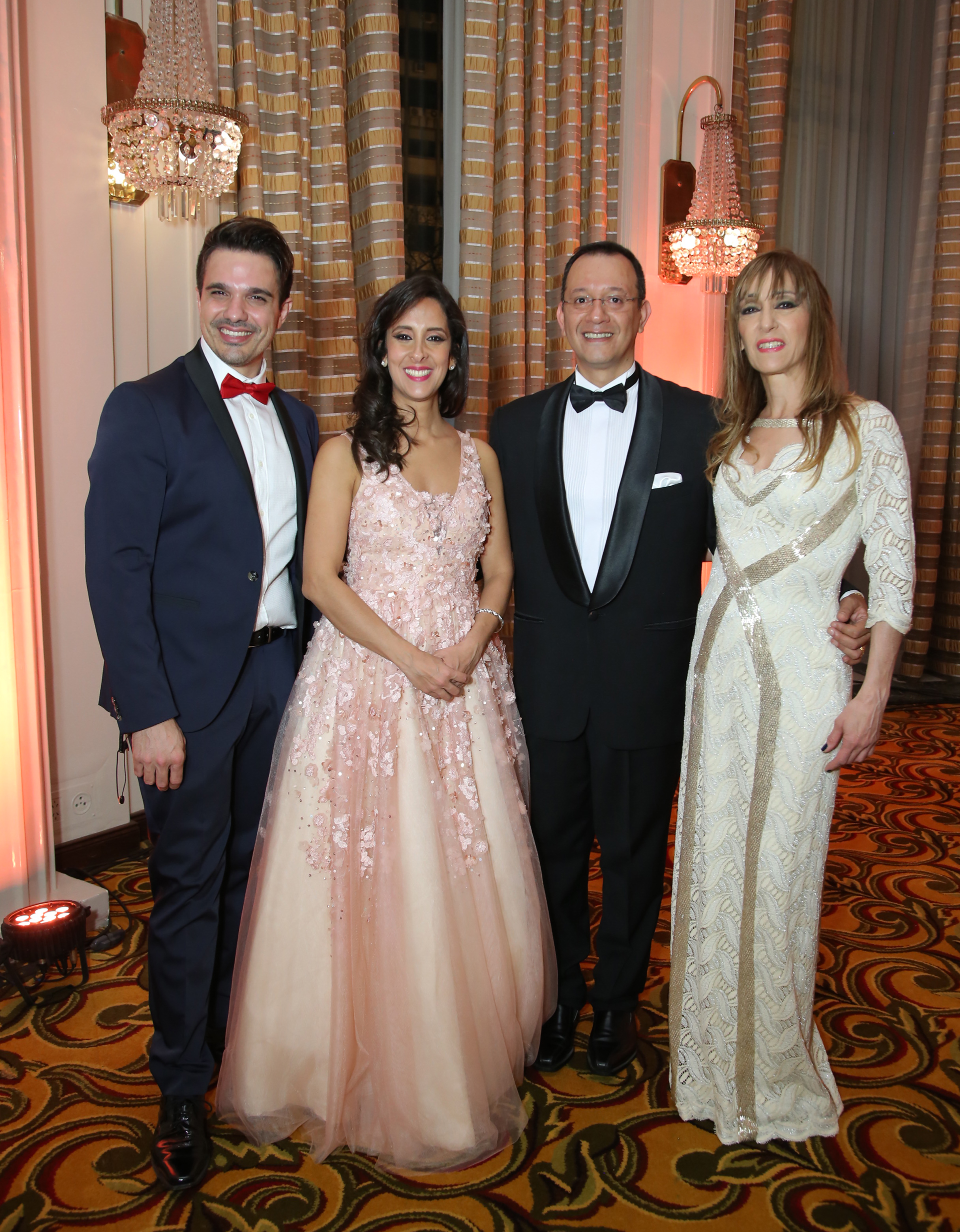 Vanesa de Noble Herrera junto a su equipo: Alejandro Viñas, Daniel Martínez y Patricia Defranceschi Sadi