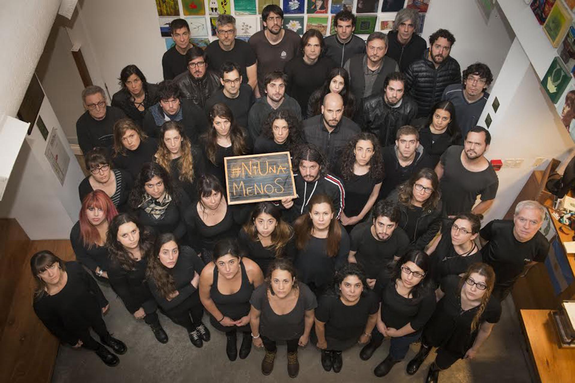 Trabajadores de Greenpeace