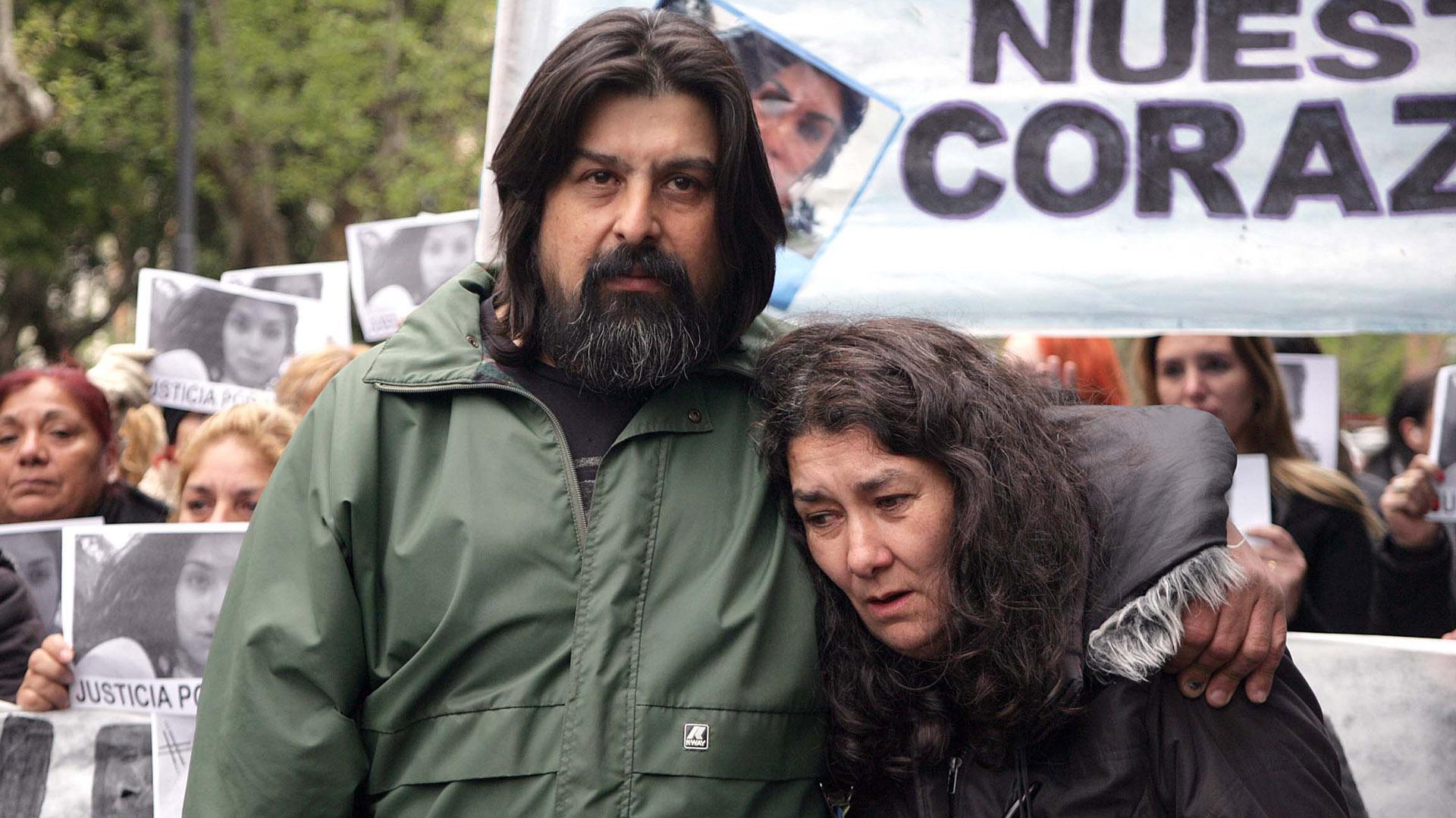 Guillermo y Marta Perez (Télam)