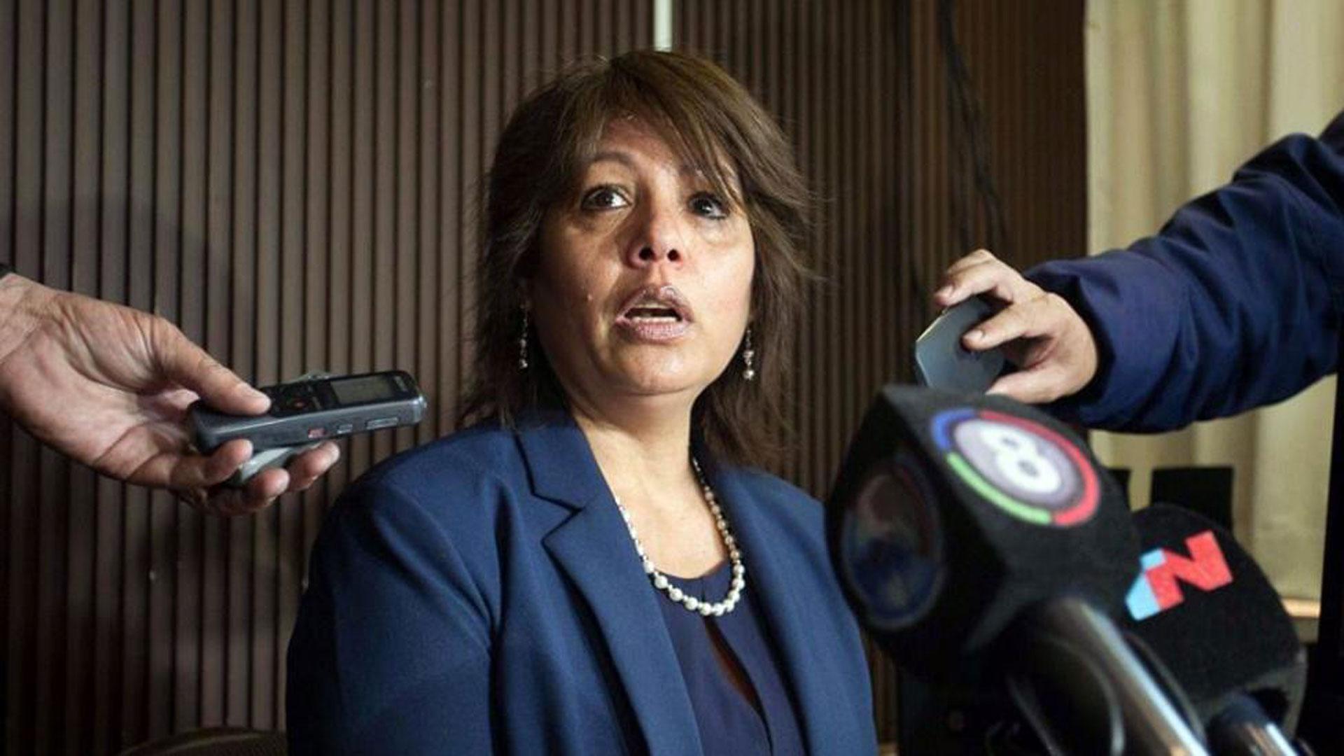 La fiscal Maria Isabel Sanchez