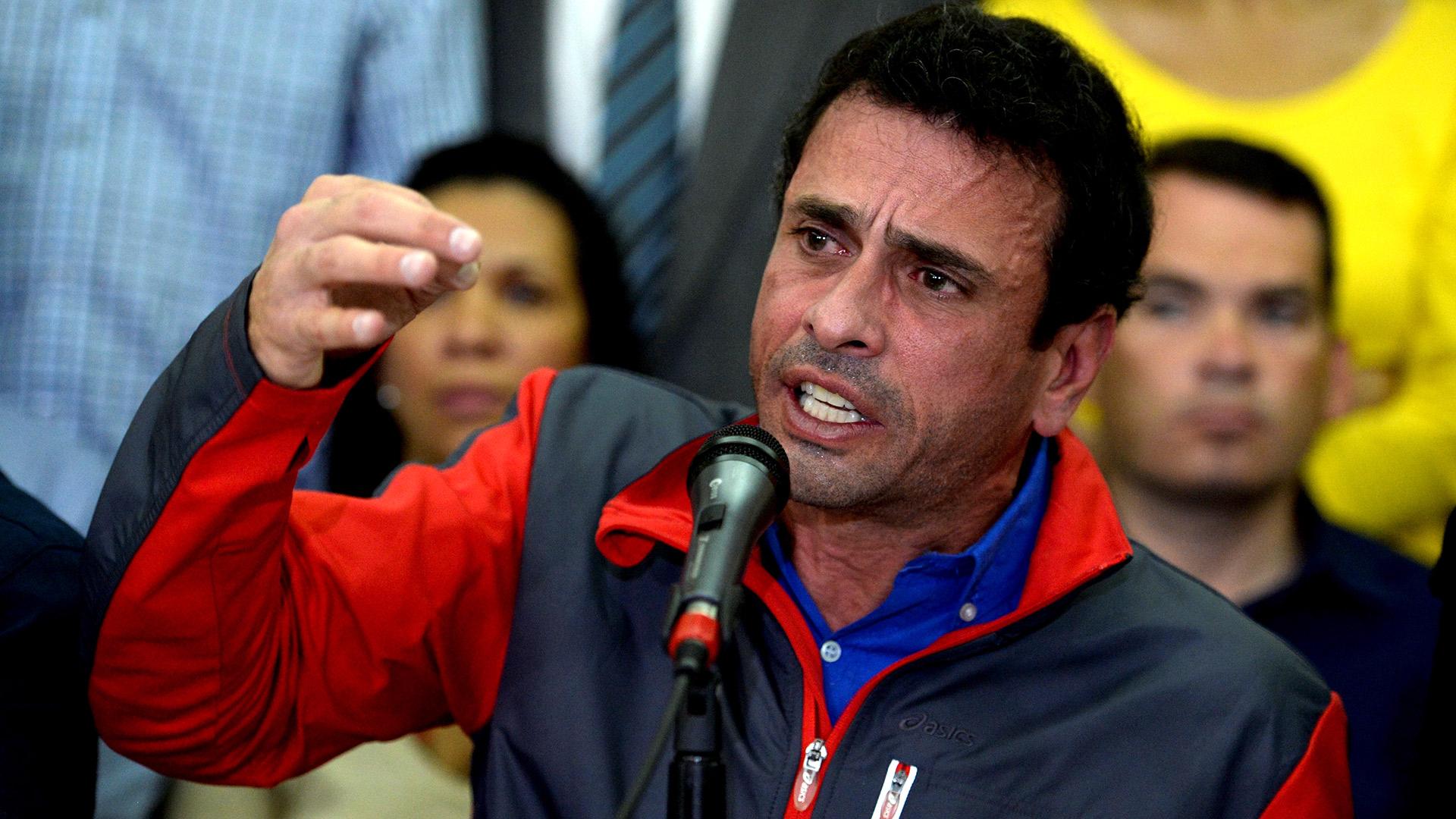 Henrique Capriles (AFP)