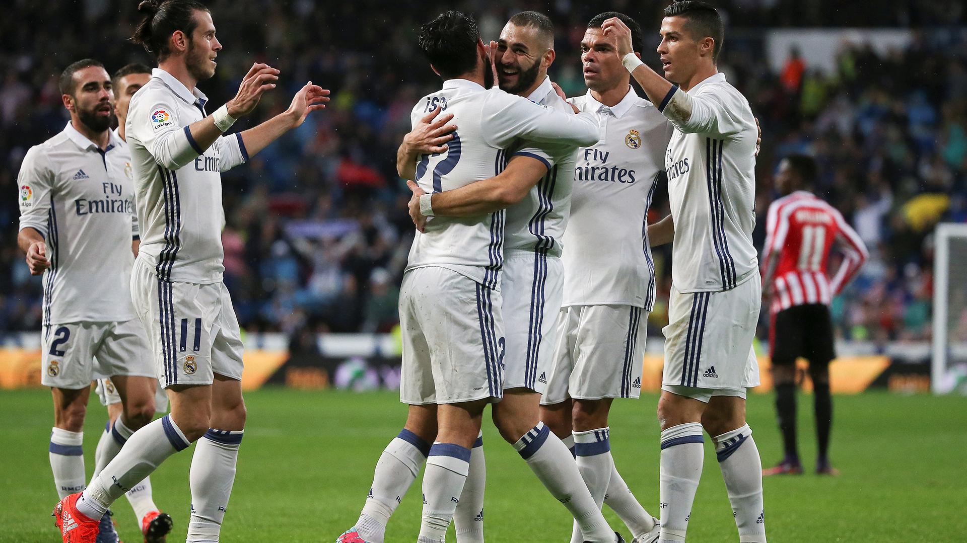 Tras el partido de esta tarde ante el Athletic de Bilbao por la Liga, Real Madrid viajará a Alemania para enfrentar al Bayern Munich por las semifinales de la Champions League (Reuters)