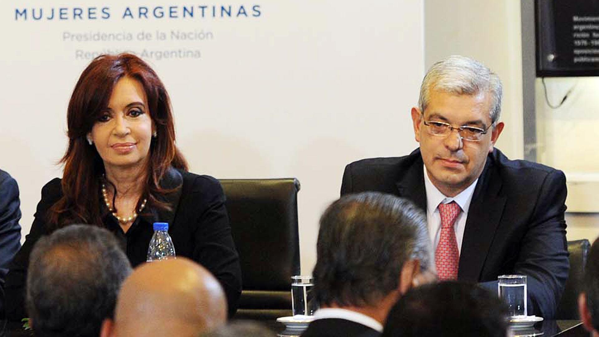 Domínguez se reunió con Cristina y dejó atrás las diferencias del pasado (Télam)