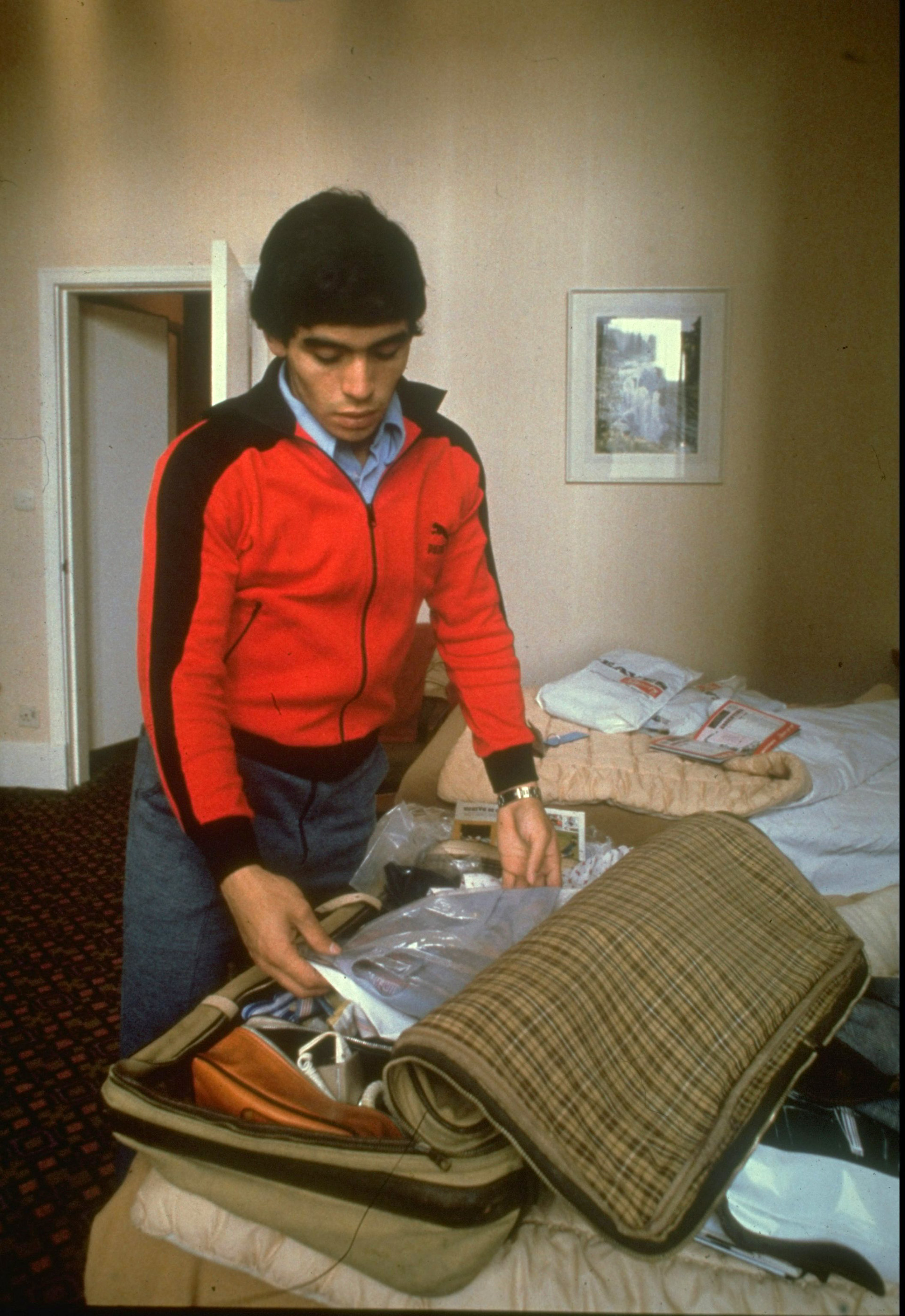 Armando la valija, previo a viajar