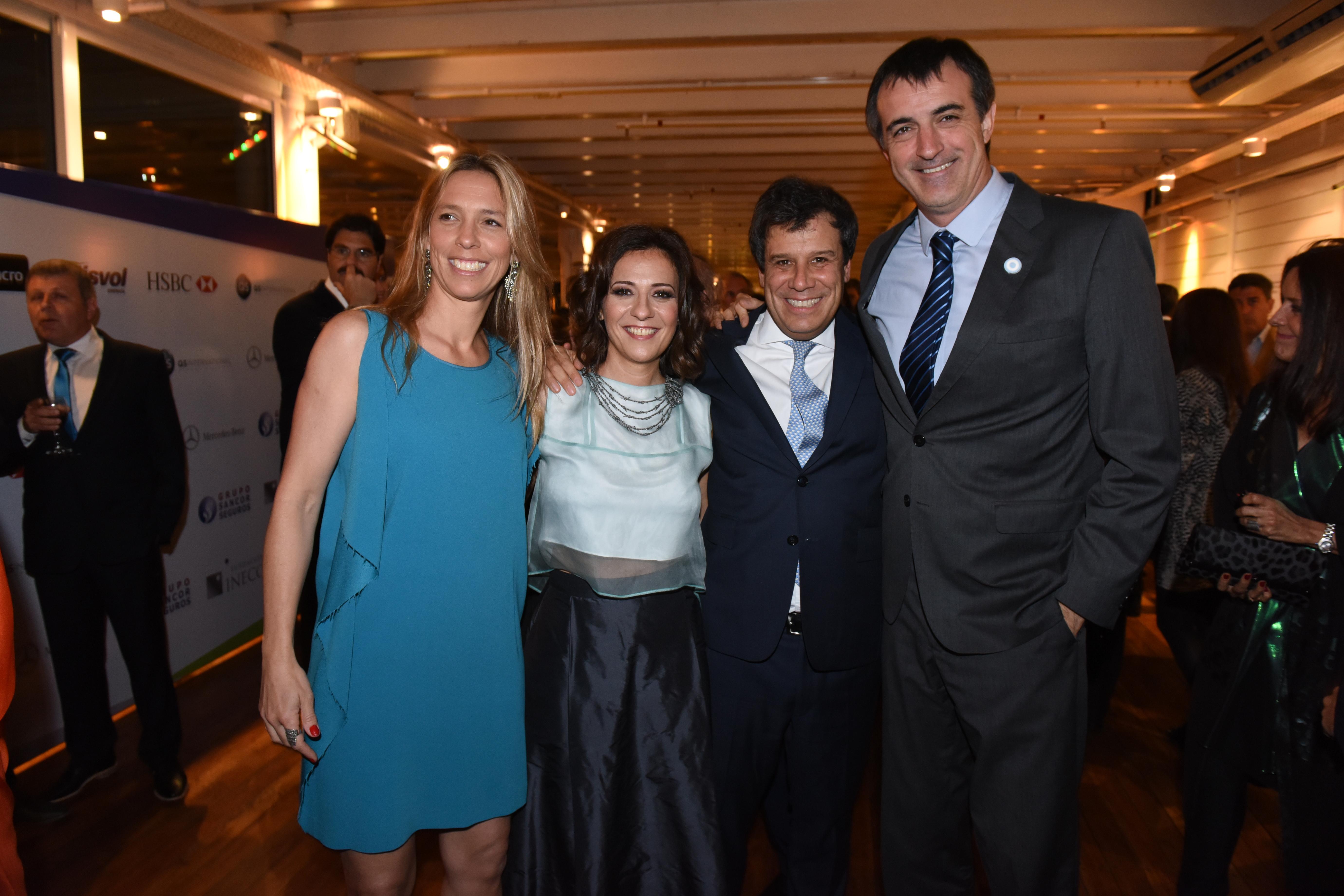 El ministro de Educación, Esteban Bullrich, también estuvo presente en la sexta cena anual de INECO