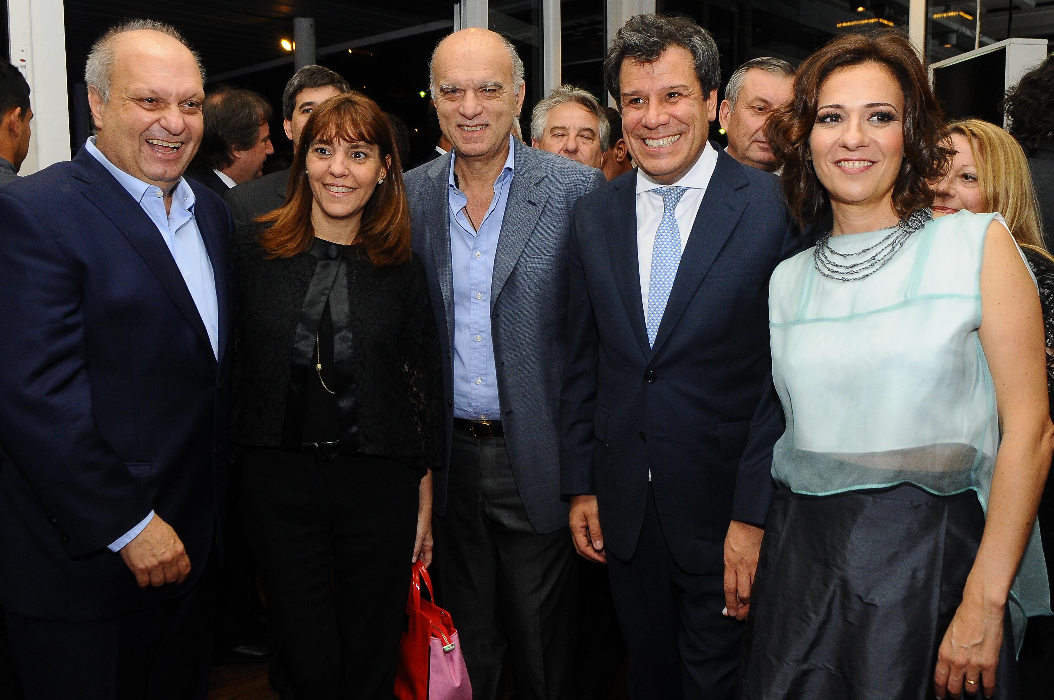 El intendente de Lanús, Nestor Grindetti, también estuvo presente