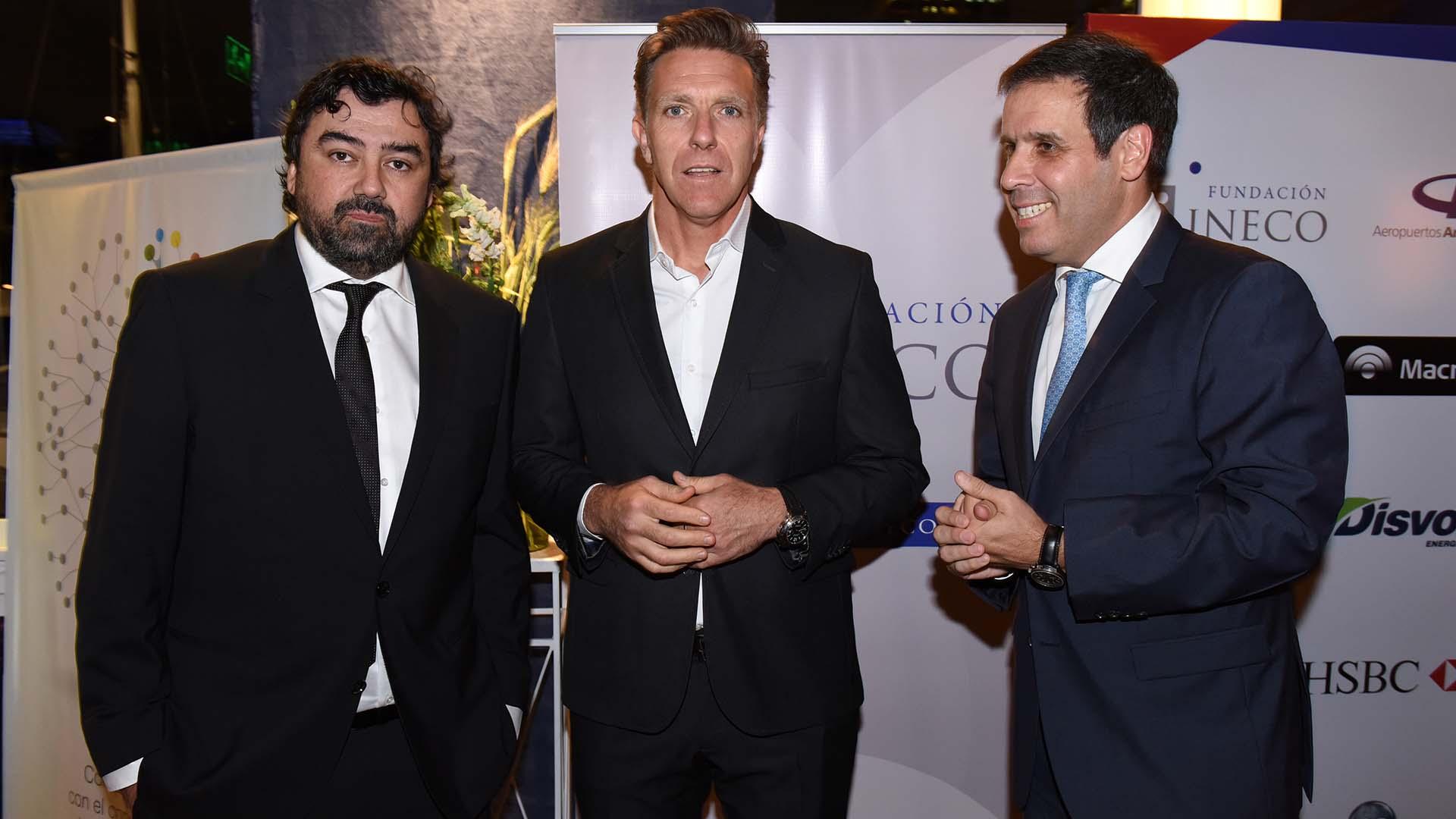 Juan Cruz Ávila, Alejandro Fantino y Gastón Manes