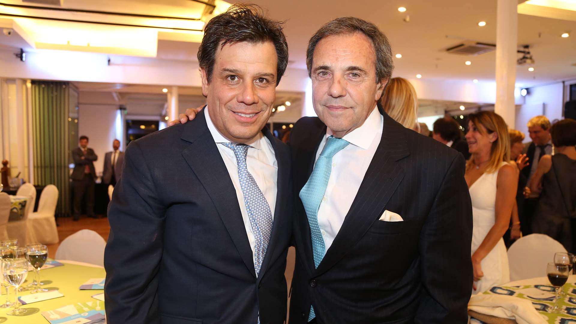 Facundo Manes y Jorge Sánchez Cordova