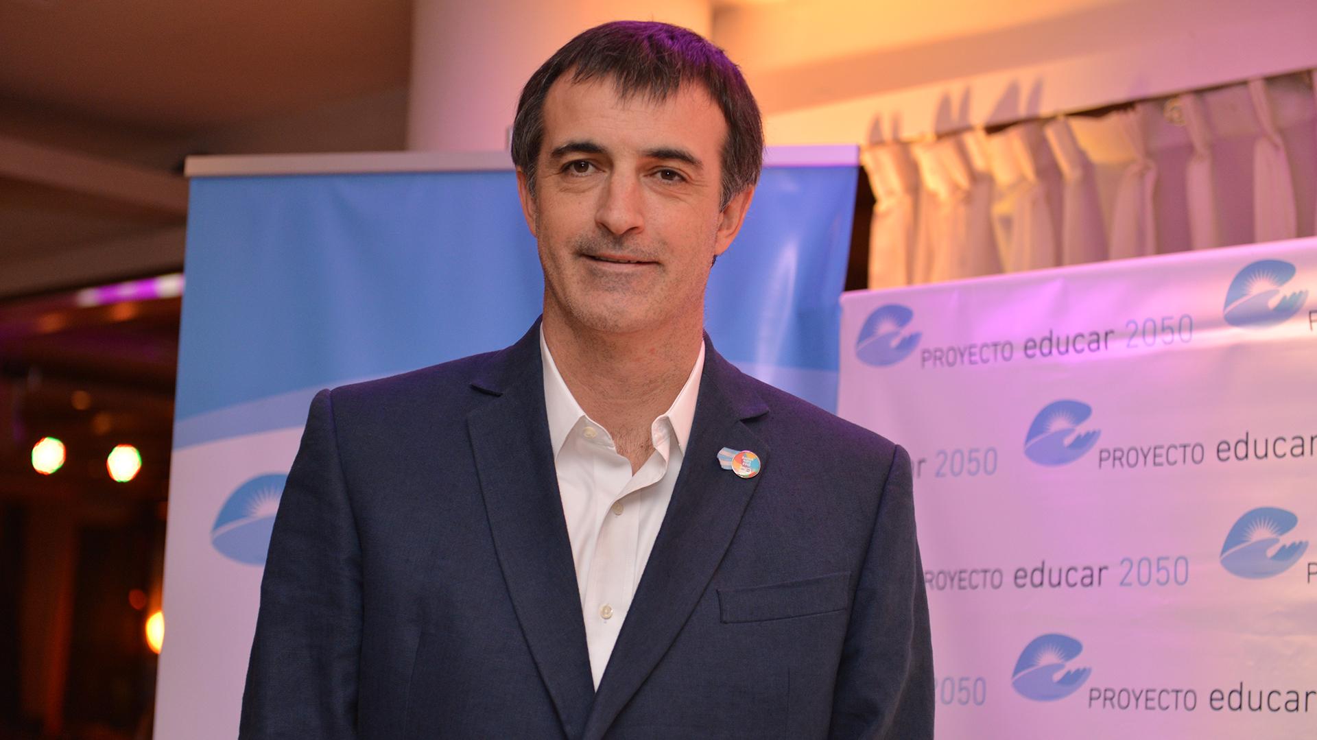 El ministro de Educación, Esteban Bullrich