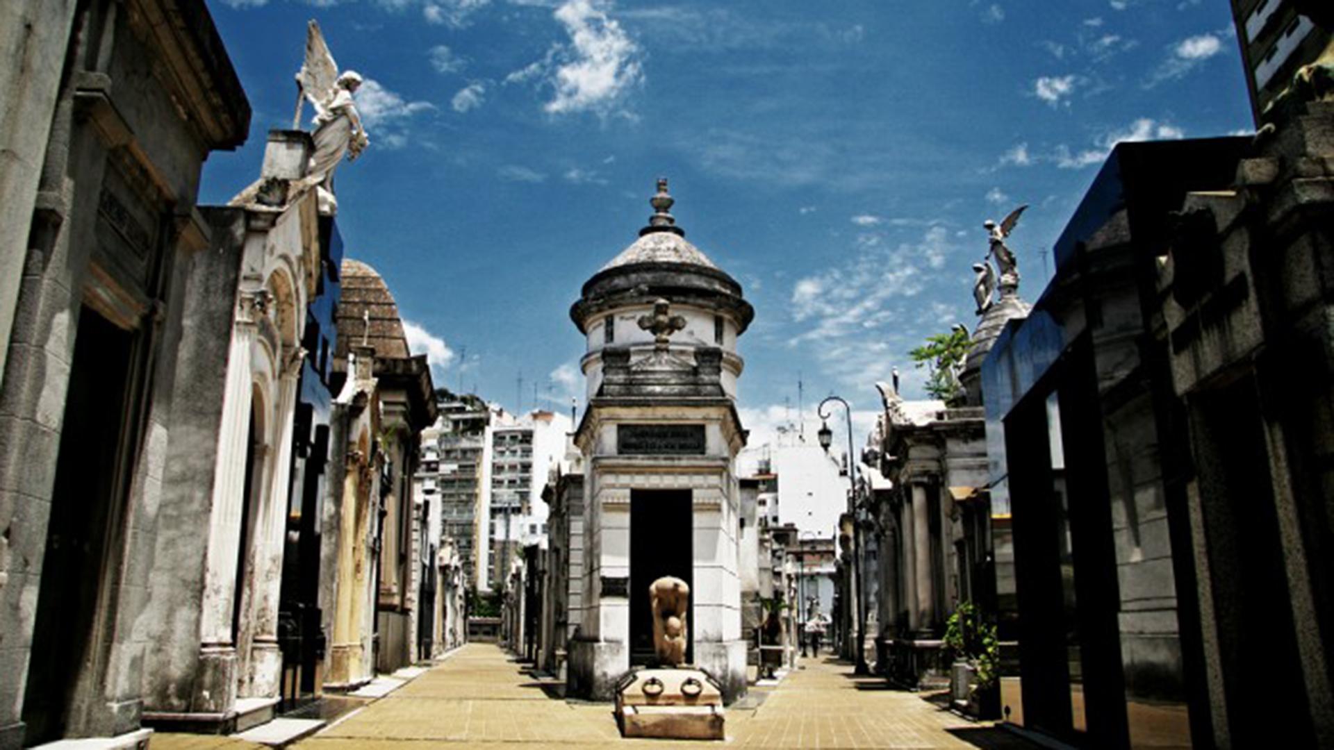 El Cementerio de Recoleta, uno de los sitios más emblemáticos de la Ciudad