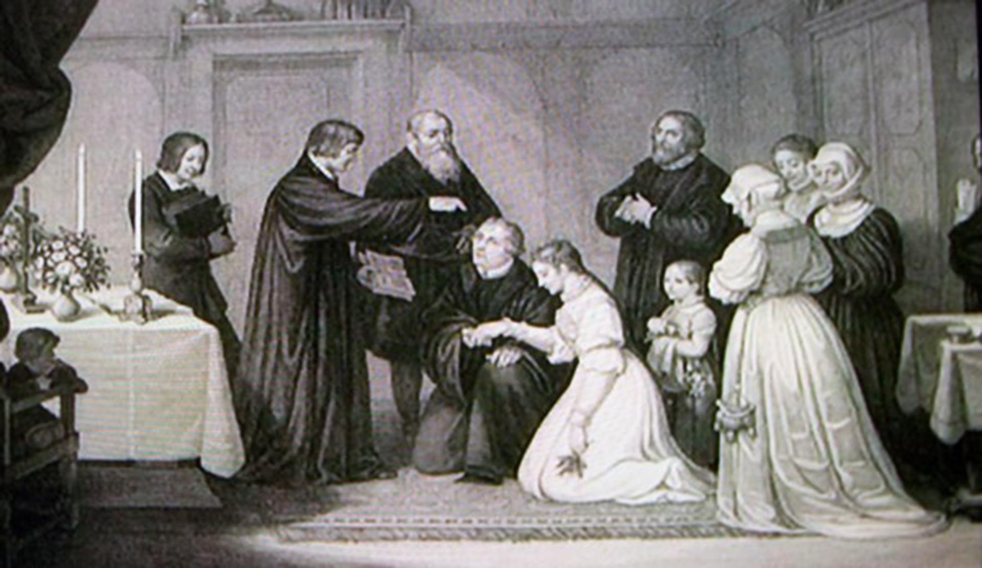 El casamiento de Lutero
