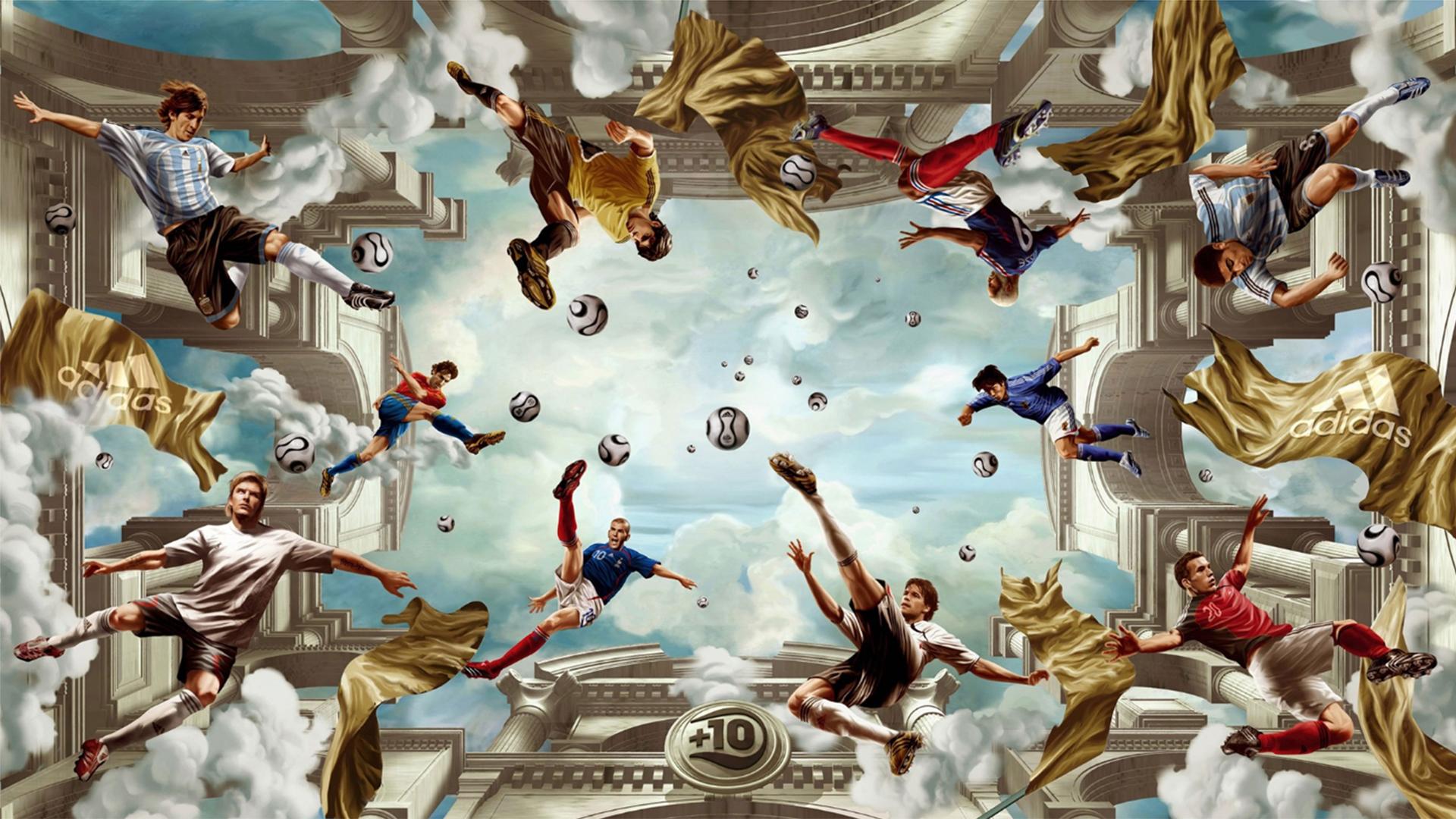 10 obras de arte relacionadas al fútbol - Infobae