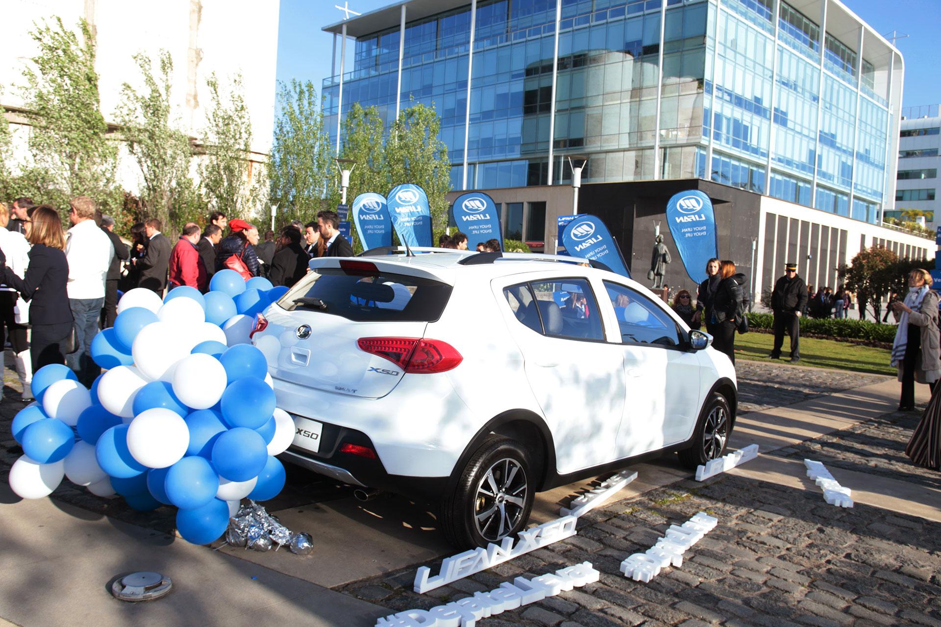 El gran lanzamiento del Lifan X50 en Argentina - Infobae