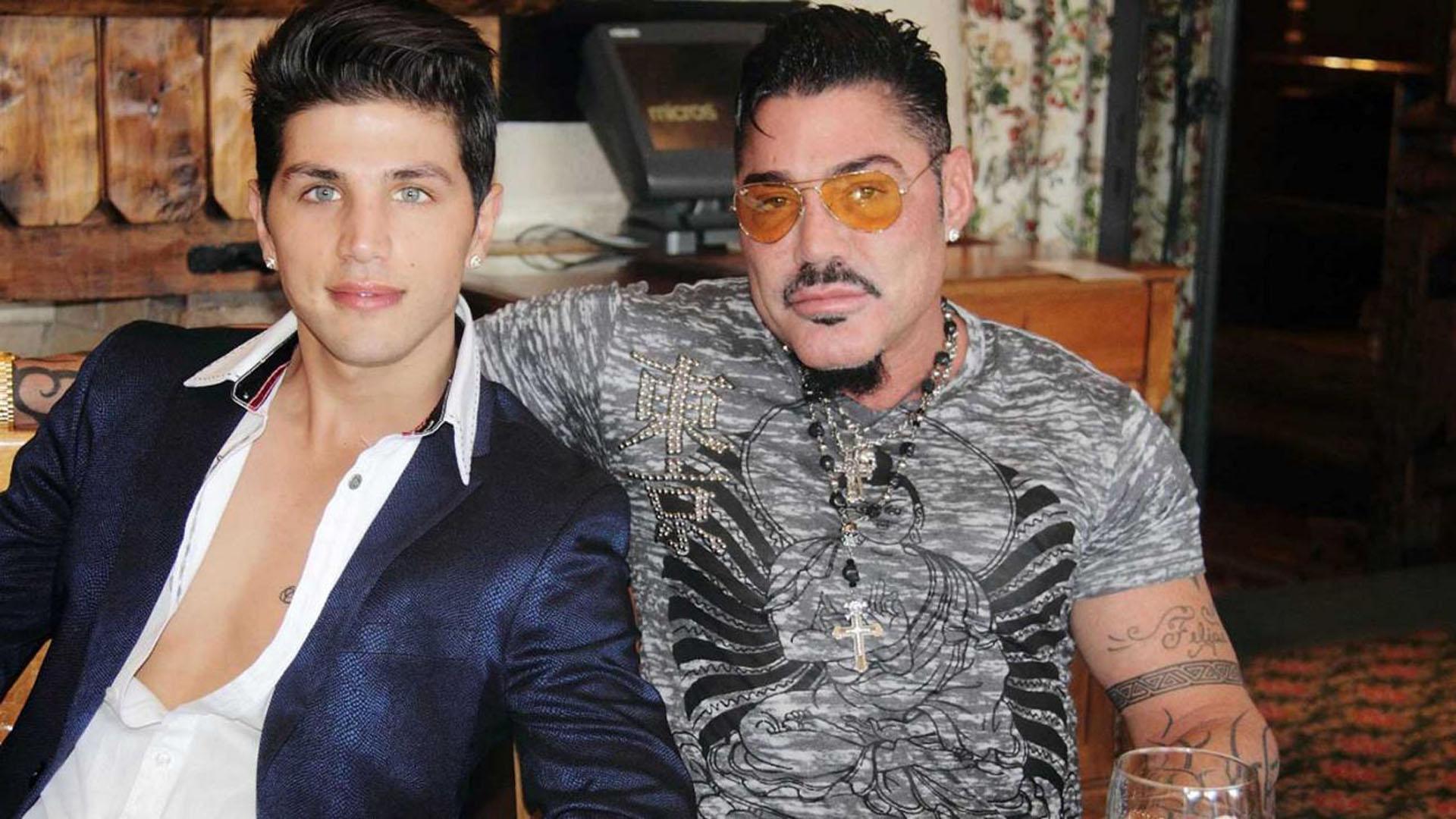 Ricardo Fort y Rodrigo Díaz, su último amor