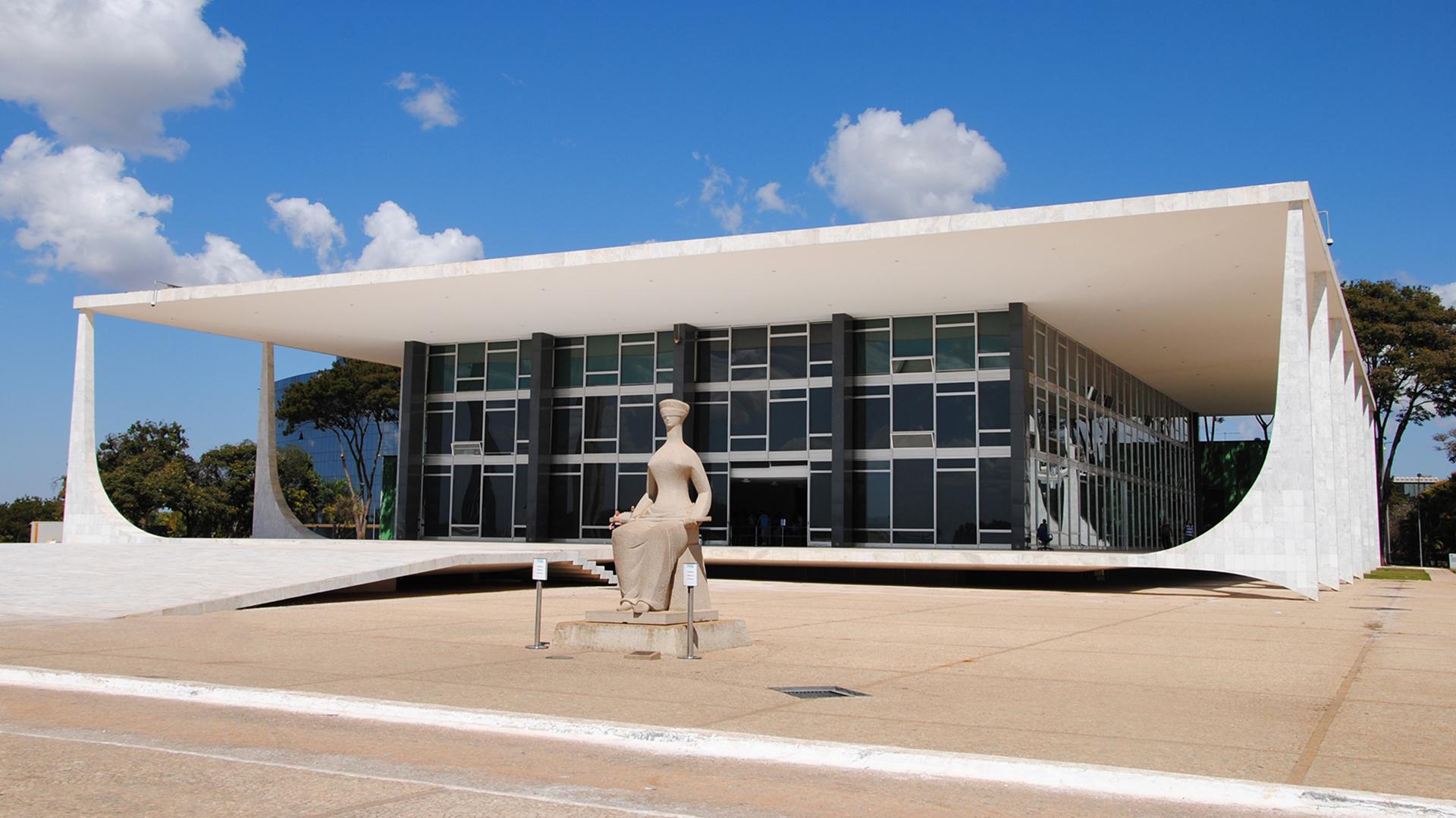 El edificio del Supremo Tribunal Federal, en Brasilia