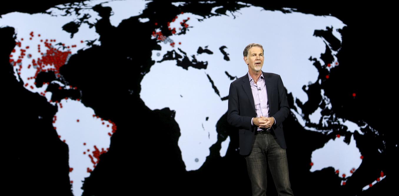 Reed Hastings, co-fundador y director ejecutivo de Netflix (Reuters)