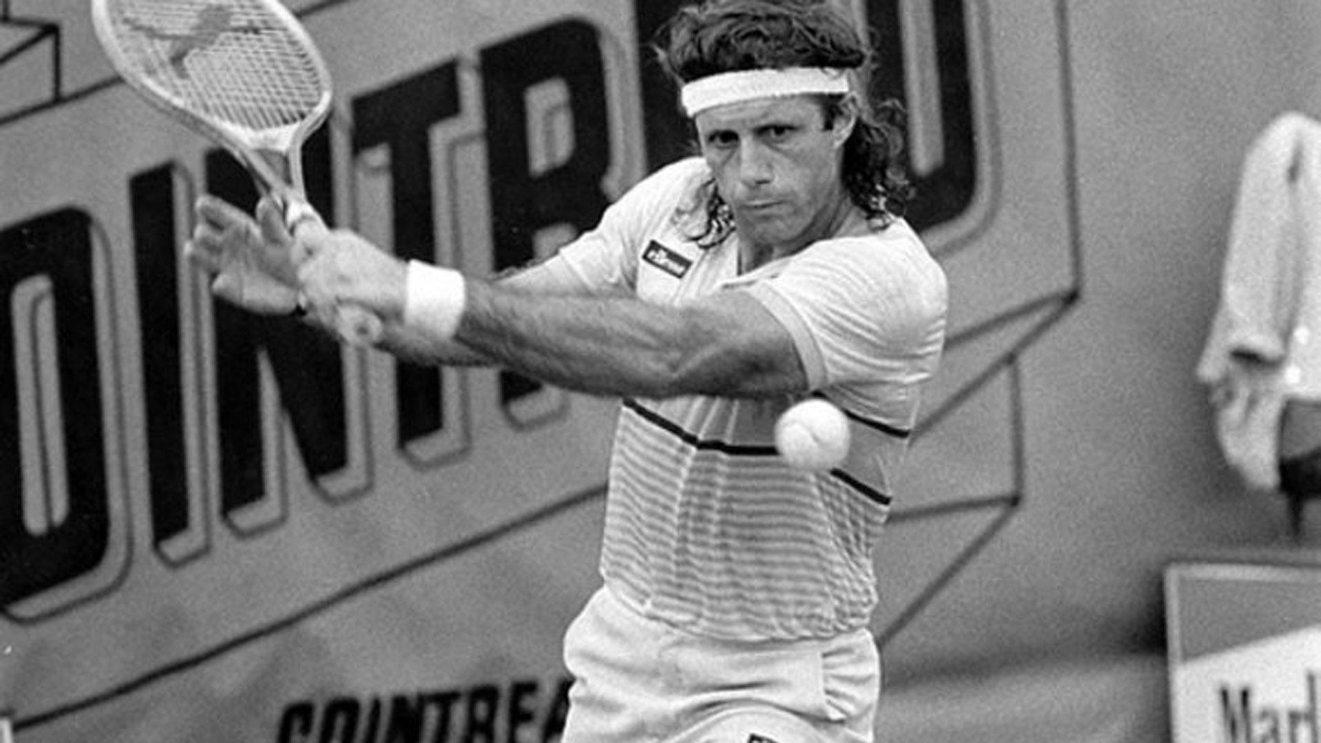 Vilas, con el número 2 del mundo en 1975, tiene la mejor marca mundial en el tenis argentino