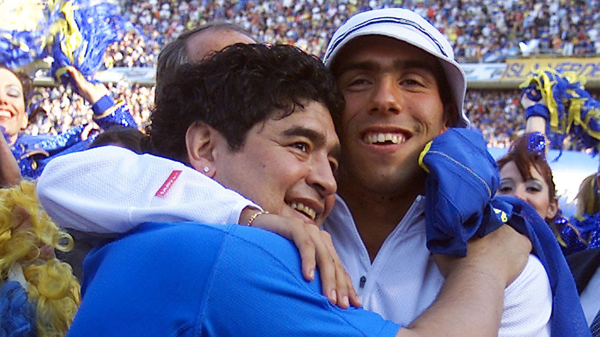 """Maradona dijo que Tevez es su """"preferido"""" (NA)"""
