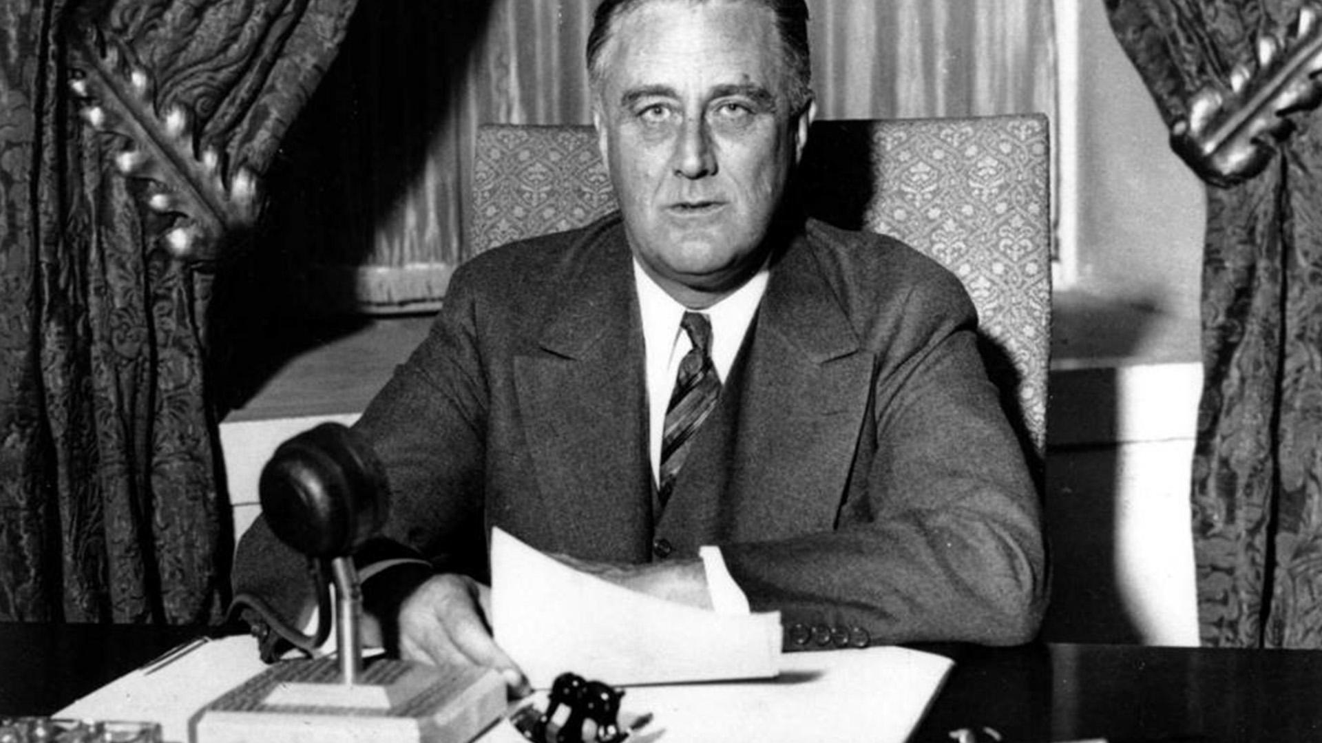 El presidente Roosevelttuvo un rol preponderante en la Operación Torch