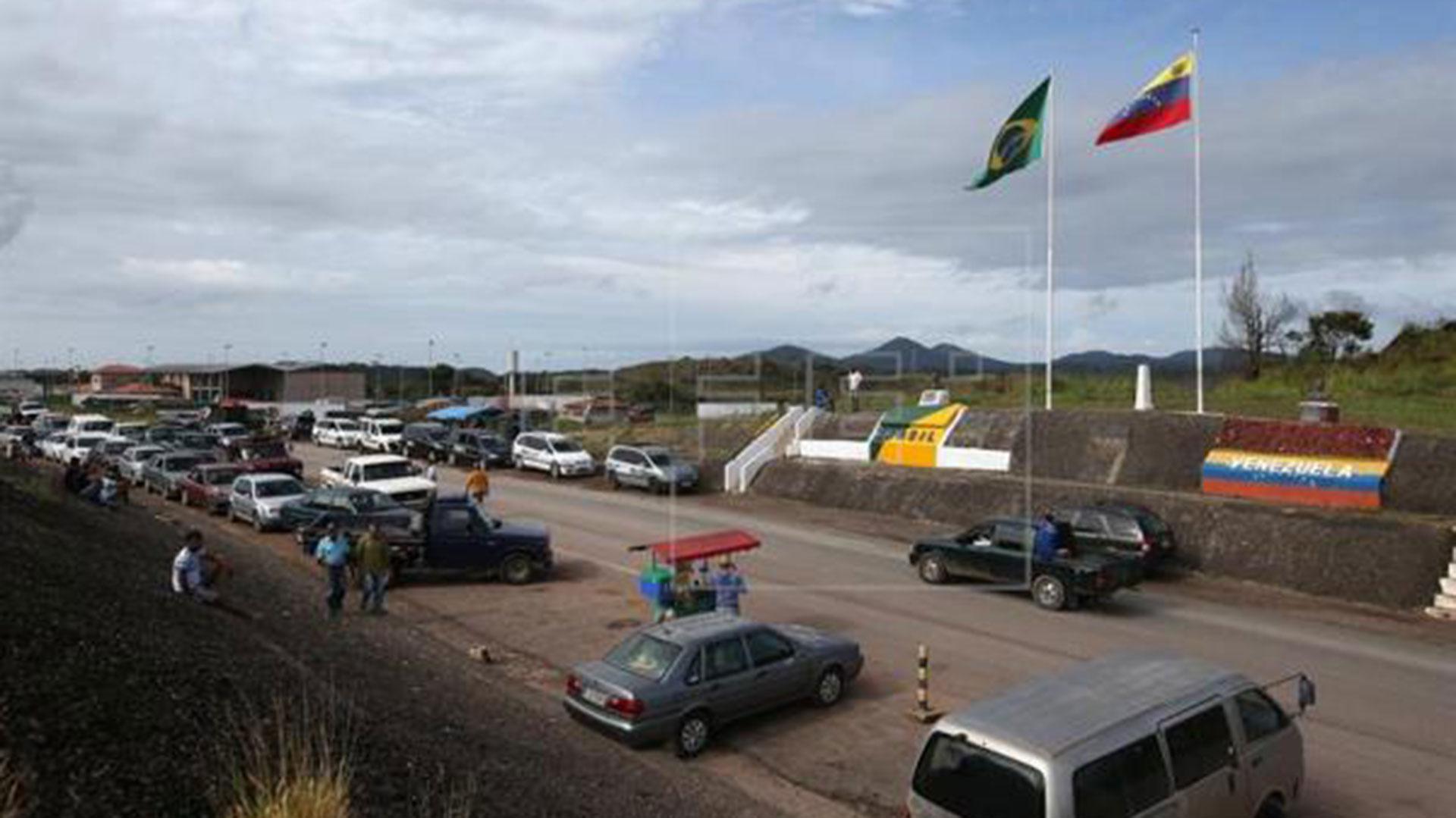 La frontera entre Venezuela y Brasil (EFE)