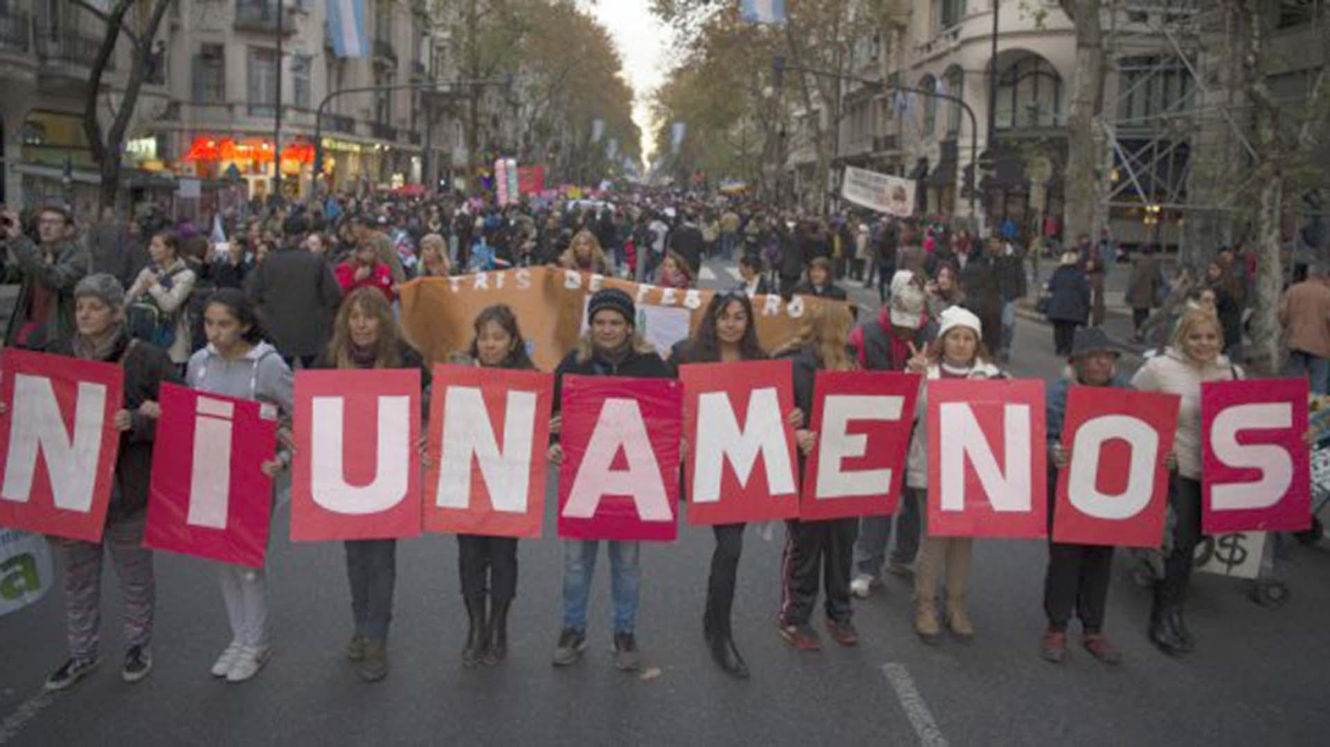 Marcha #NiUnaMenos