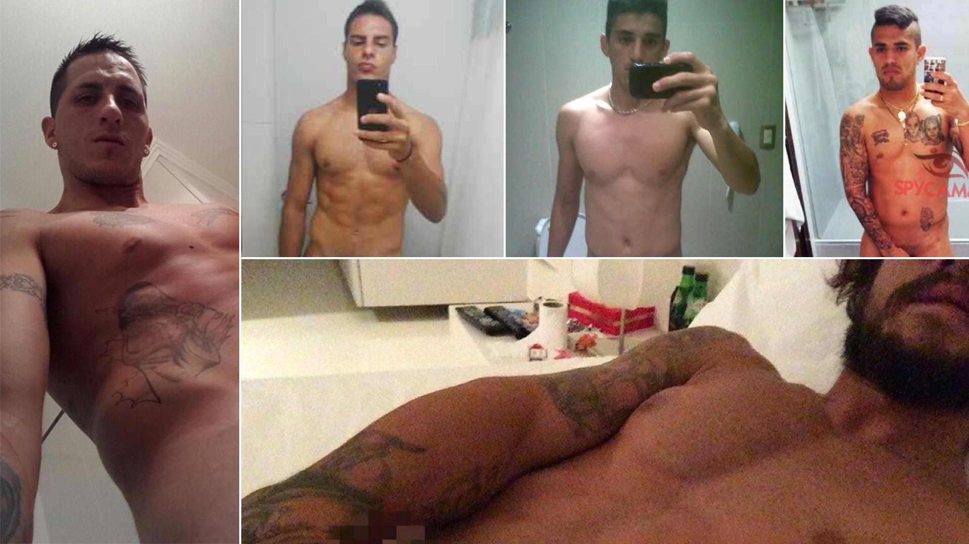 Otro futbolista escrachado: las fotos prohibidas de Pablo Migliore