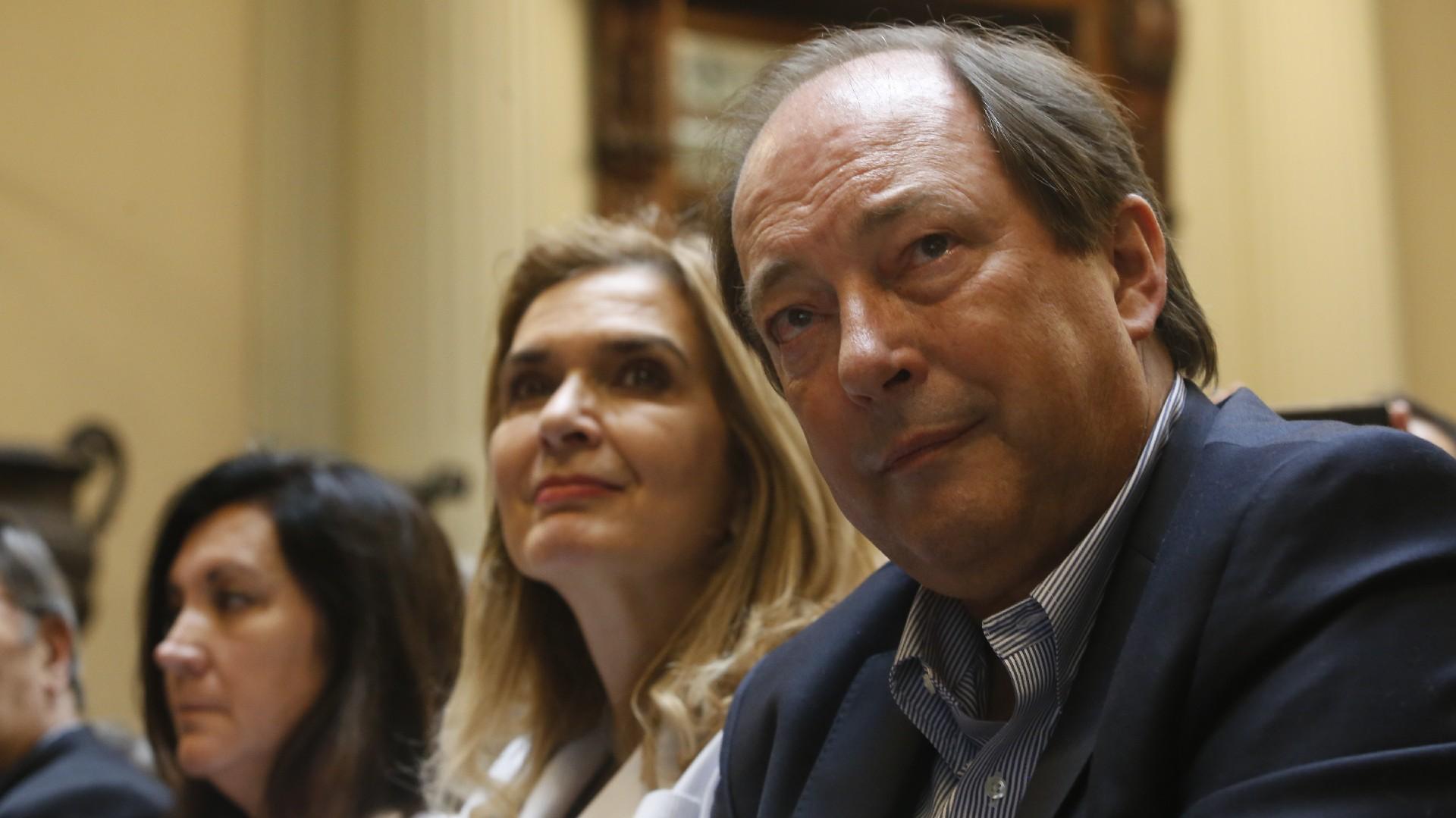 El ex senador Ernesto Sanz