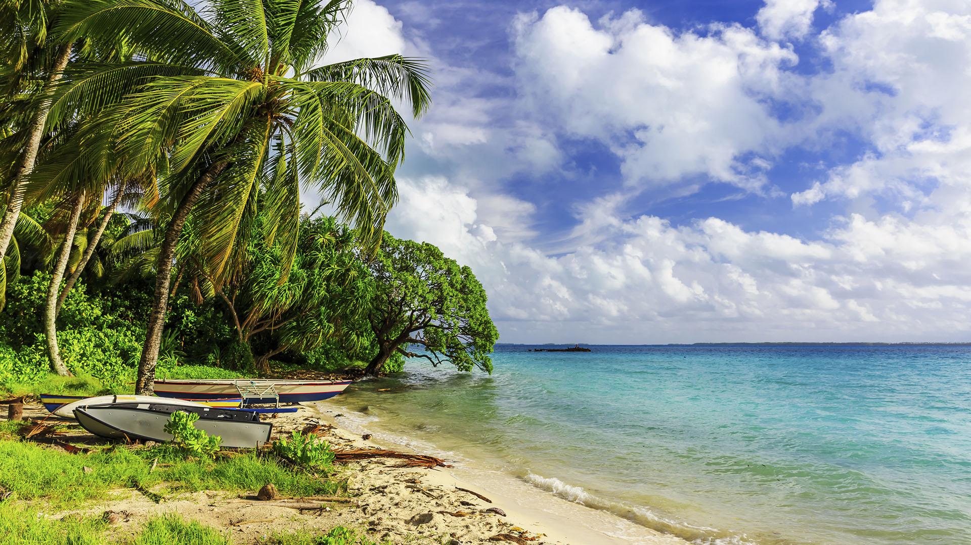 Kiribati, uno de los lugares menos visitados del planeta y el primero en recibir el año (IStock)