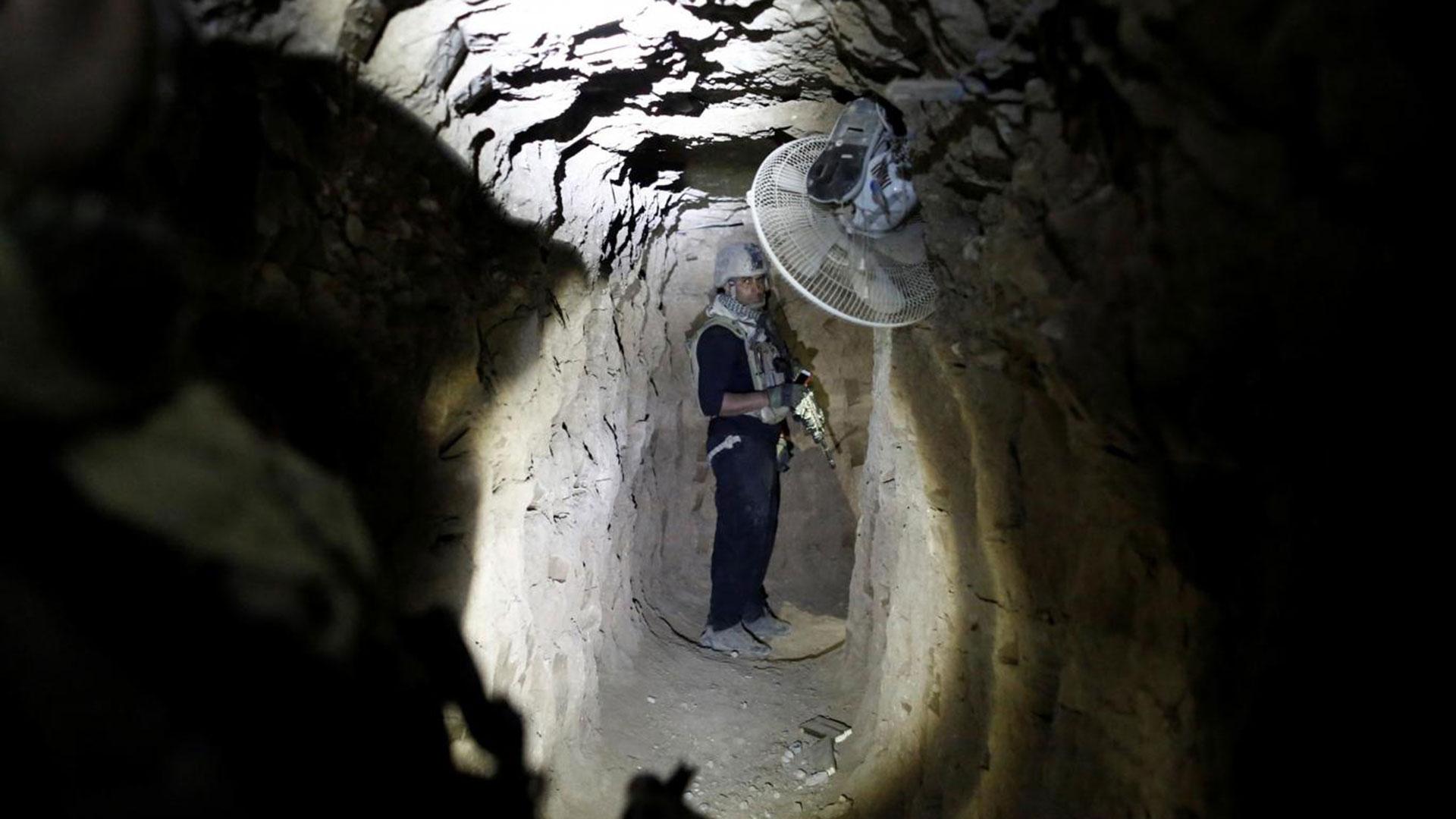El Estado Islámico construyó túneles subterráneos en Mosul