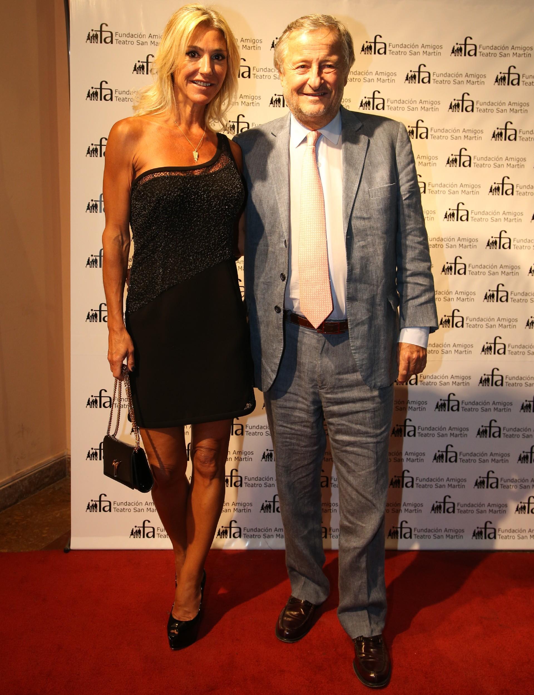 Cristiano Rattazzi, presidente de FIAT Argentina, y Gabriela Castellani