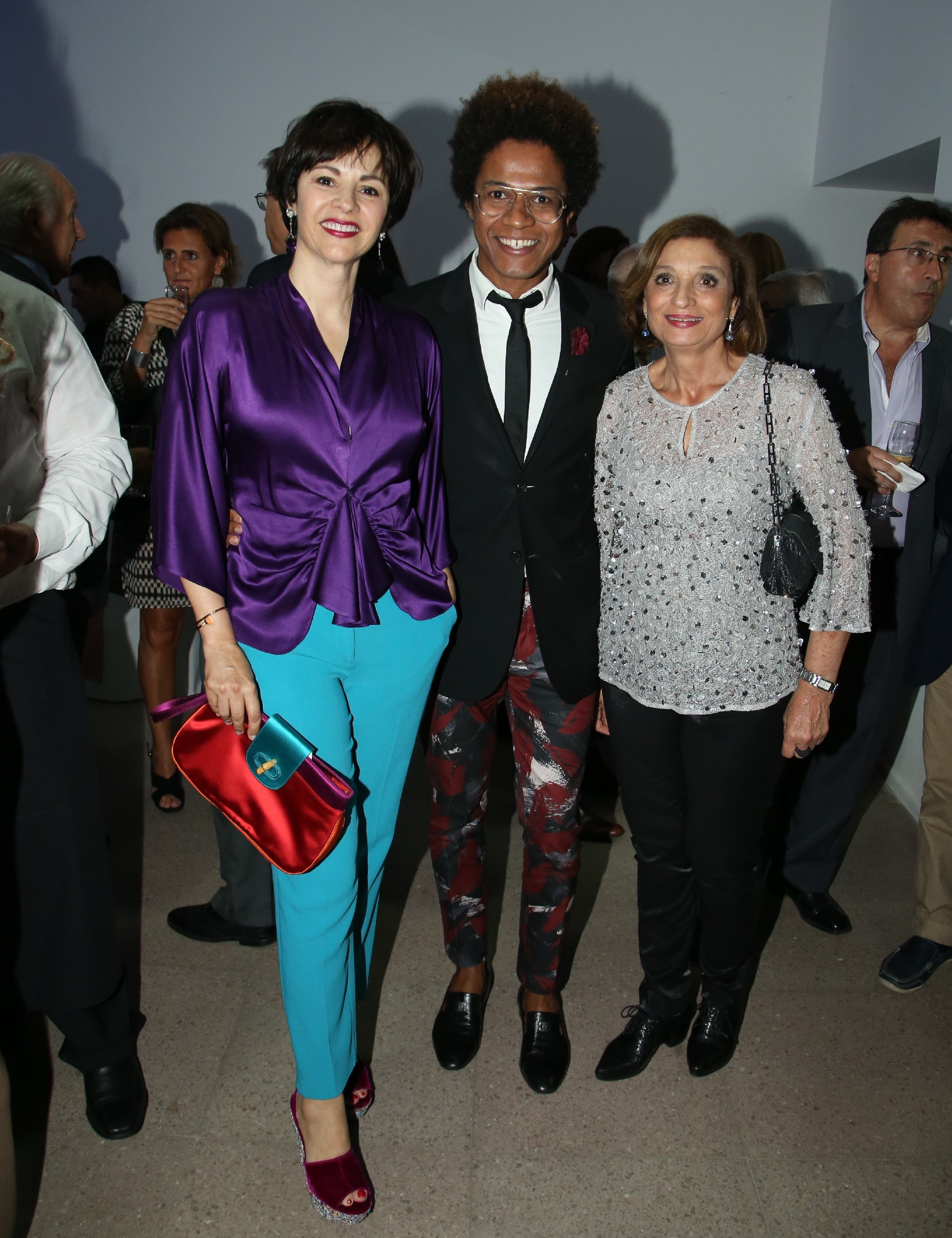 Marlise Ilhesca Jozami, Abraão Ferreira y Teresa Napolillo