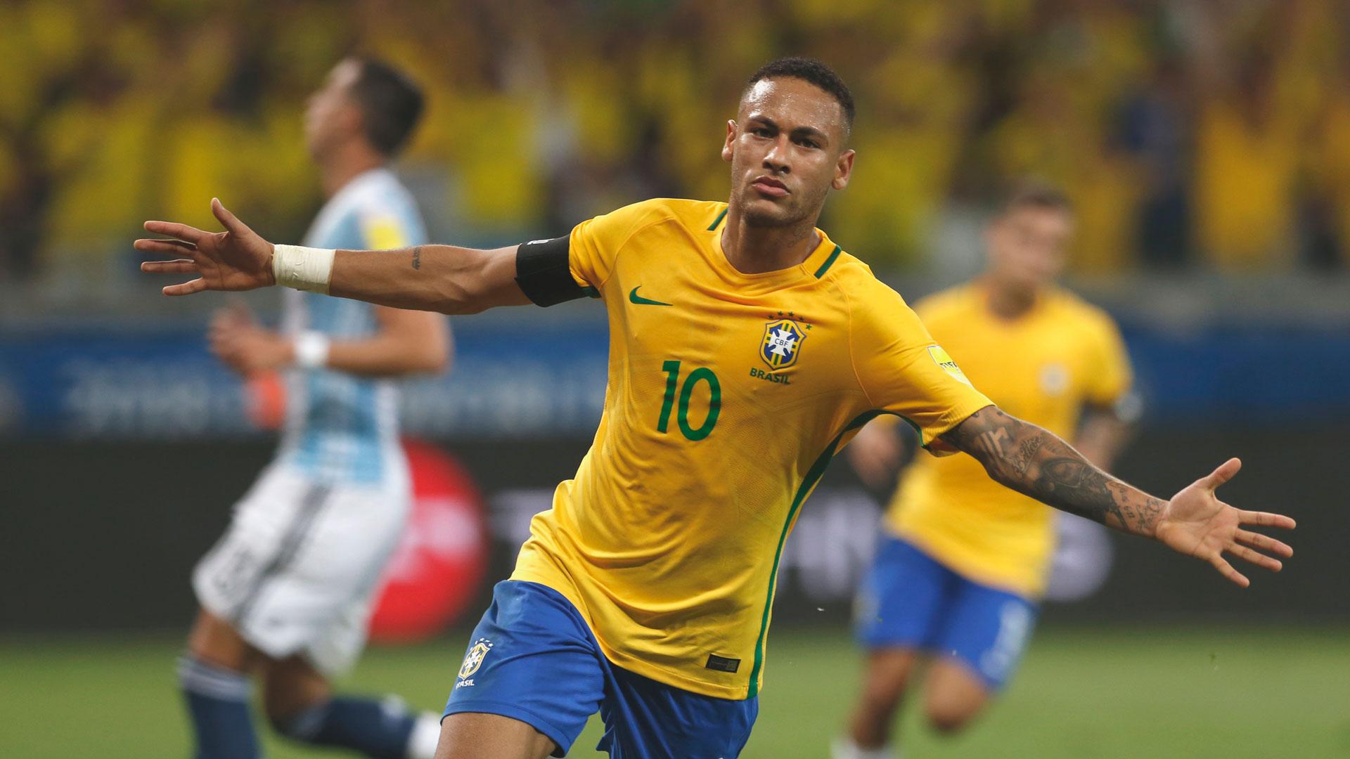 Neymar, máxima estrella de Brasil (AP)