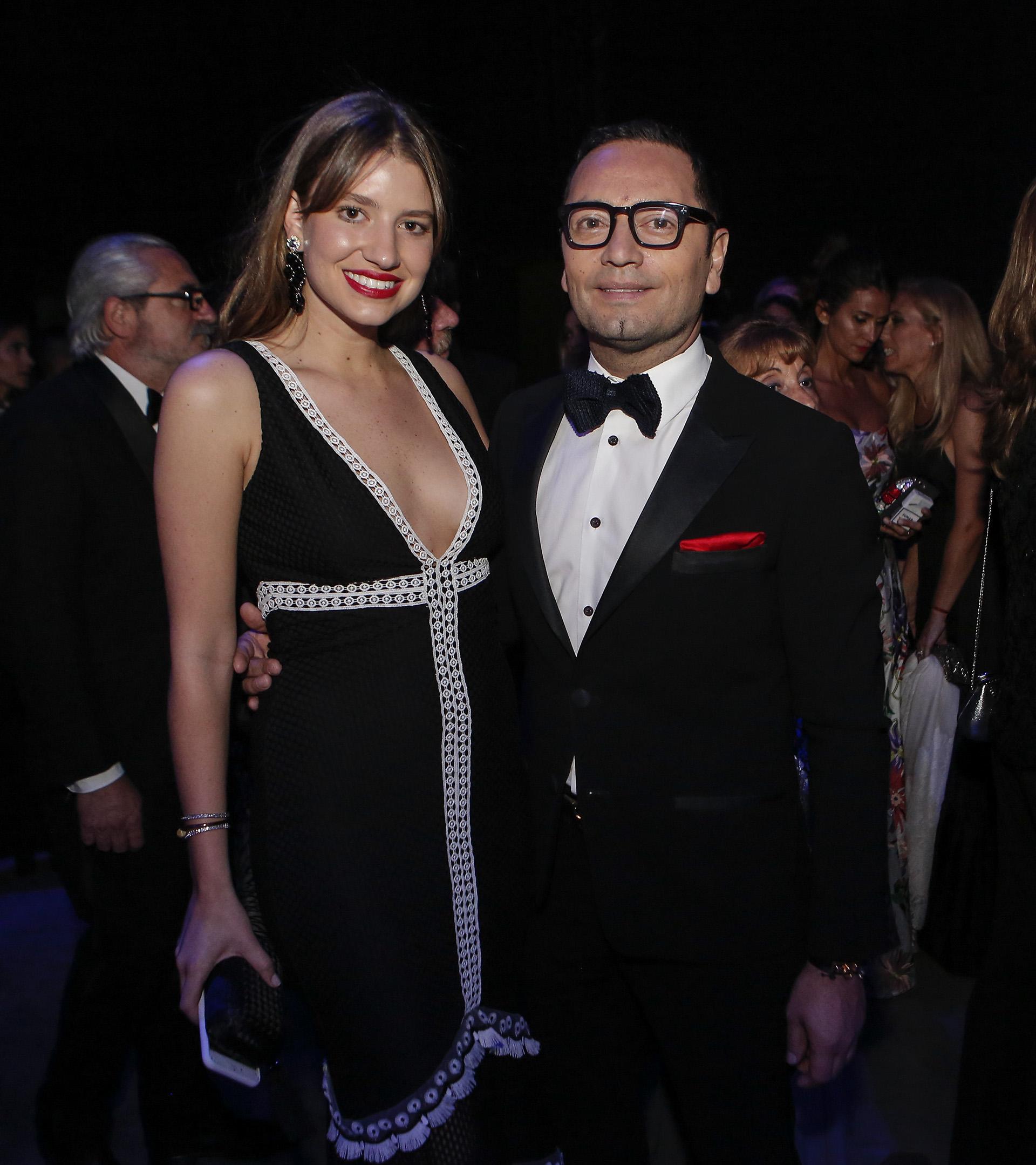 Angie Landaburu y Fabián Medina Flores