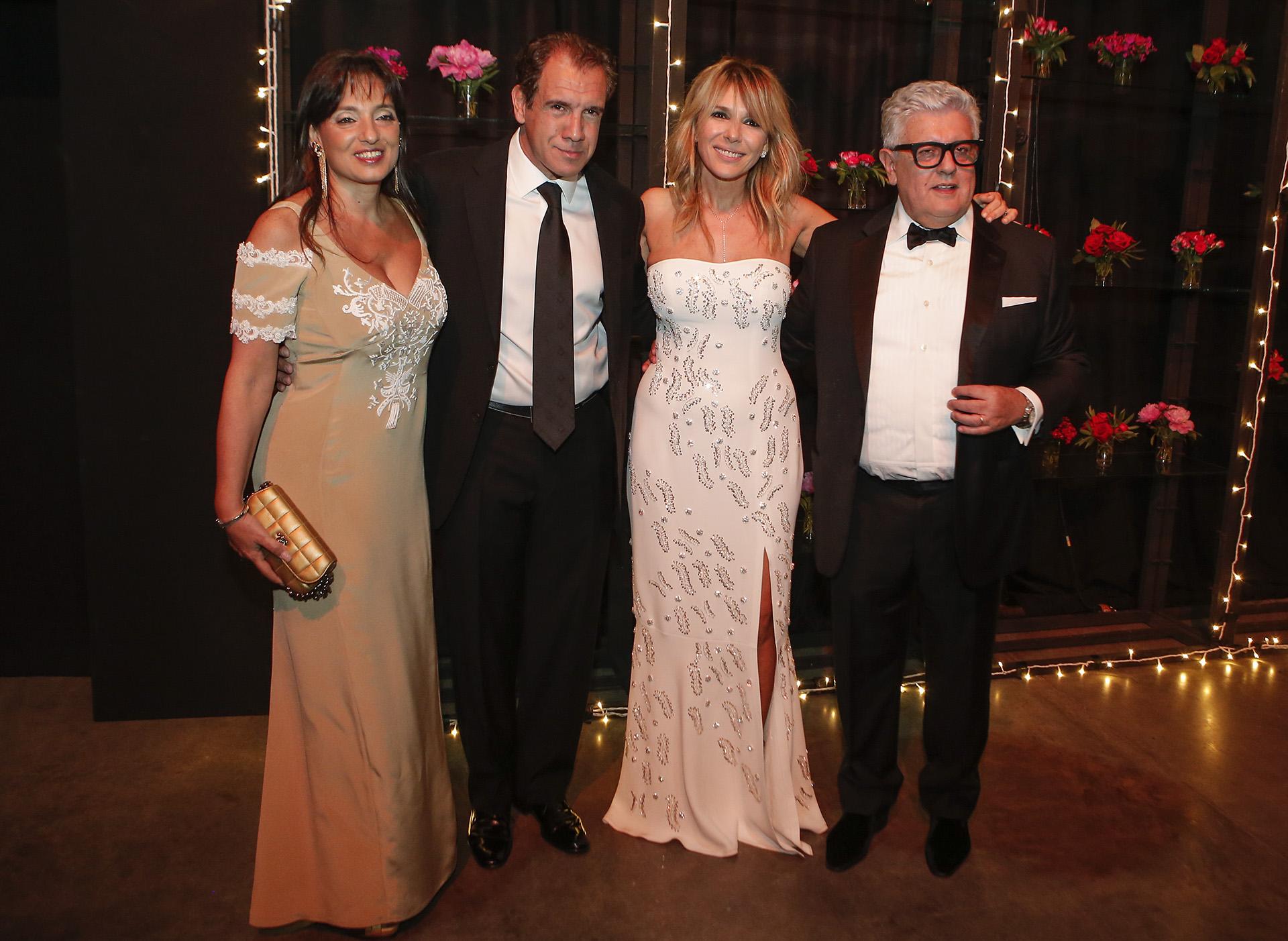 Daniel Hadad y Viviana Zocco junto a Carlos Gorosito y Grace Ratto