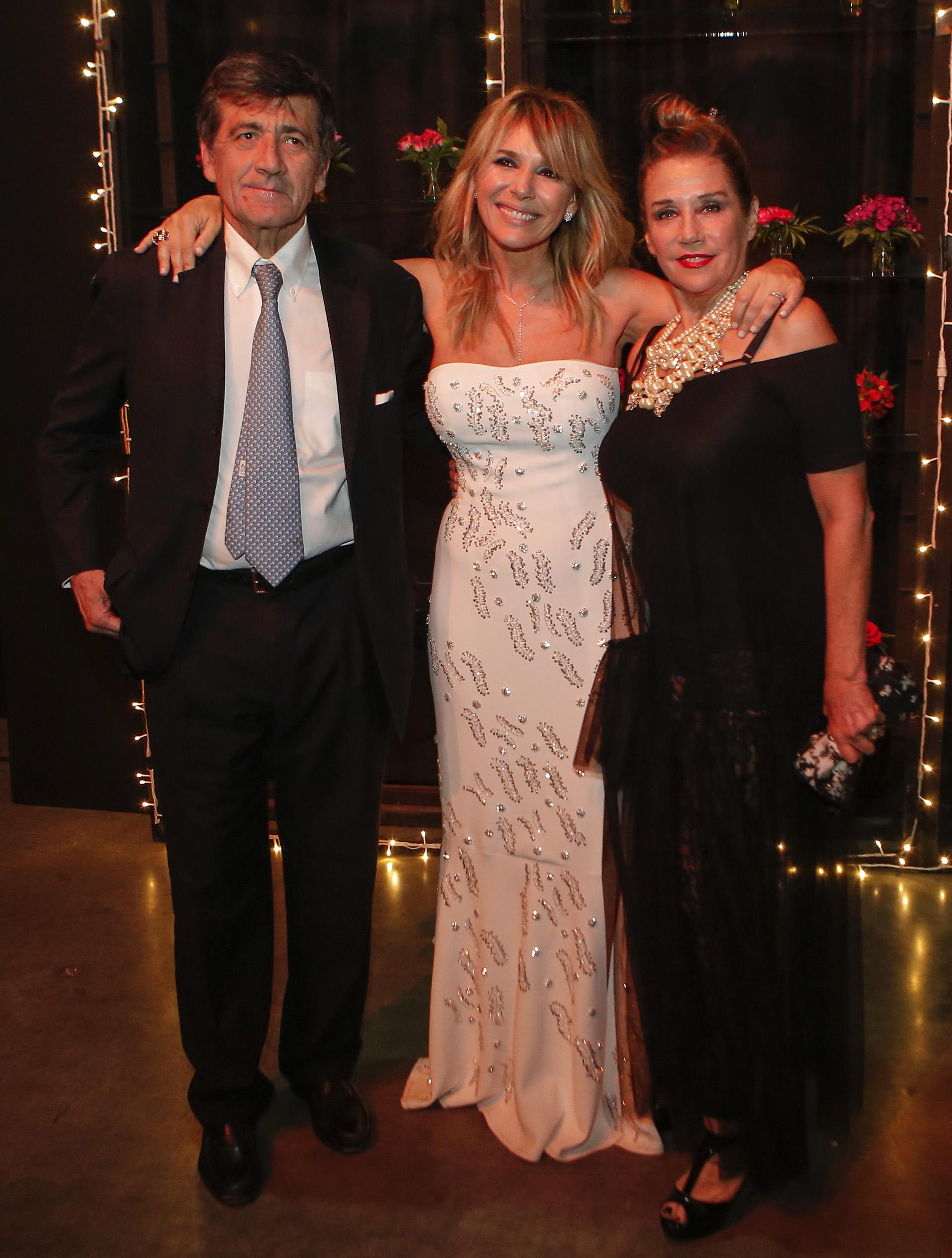 Marcos Gastaldi, Grace Ratto y Marcela Tinayre