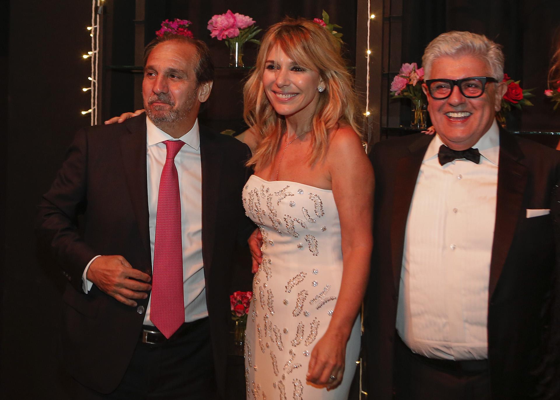 Nicolás Caputo, Grace Ratto y Carlos Gorosito