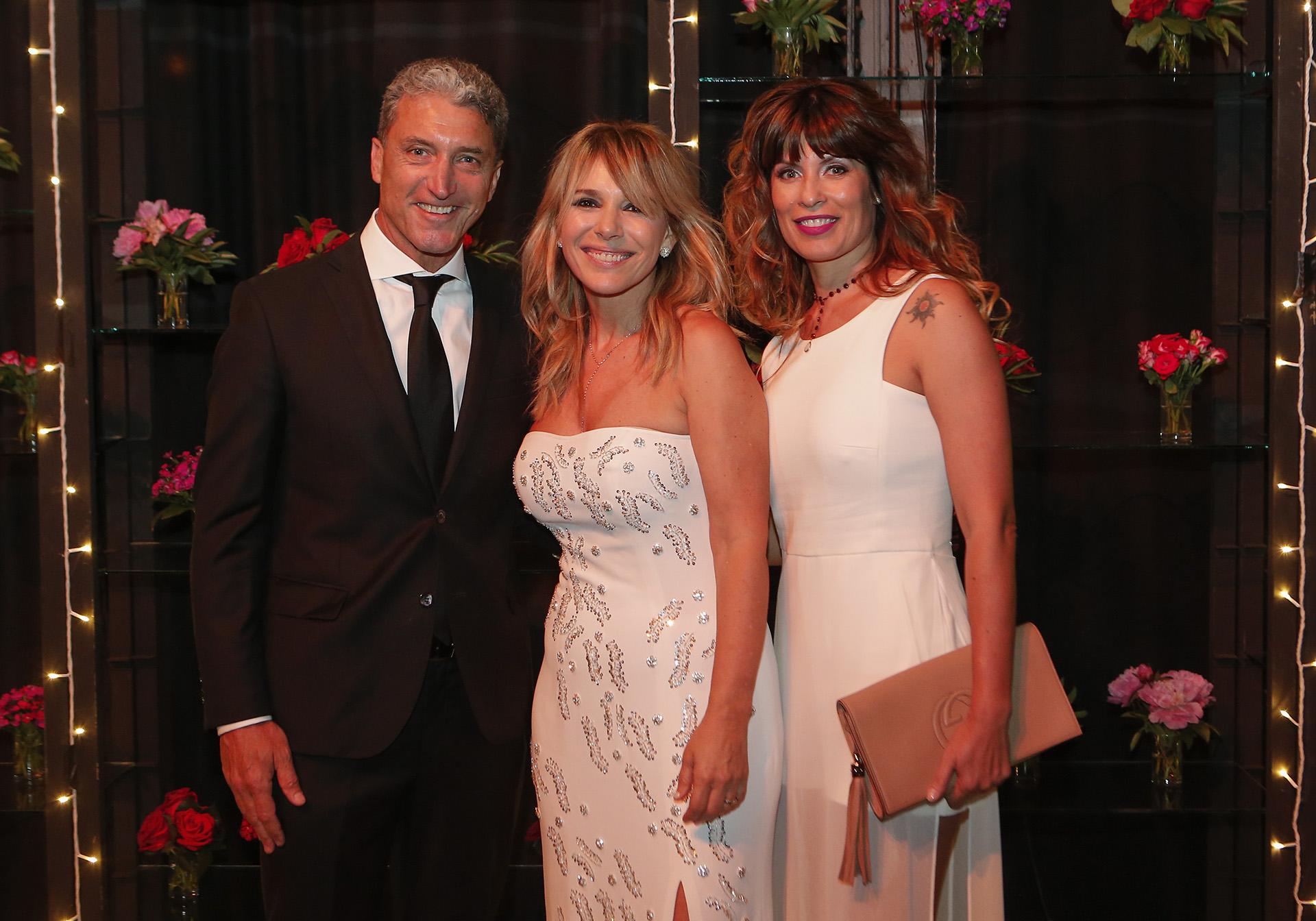 José Scioli y María Pinto junto a Grace Ratto