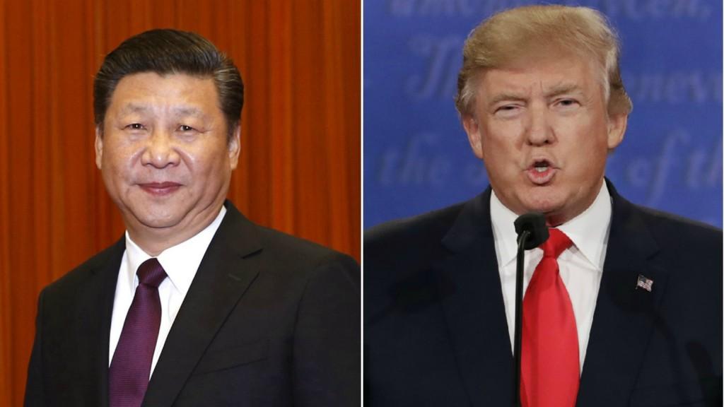 Xi Jinping y Donald Trump