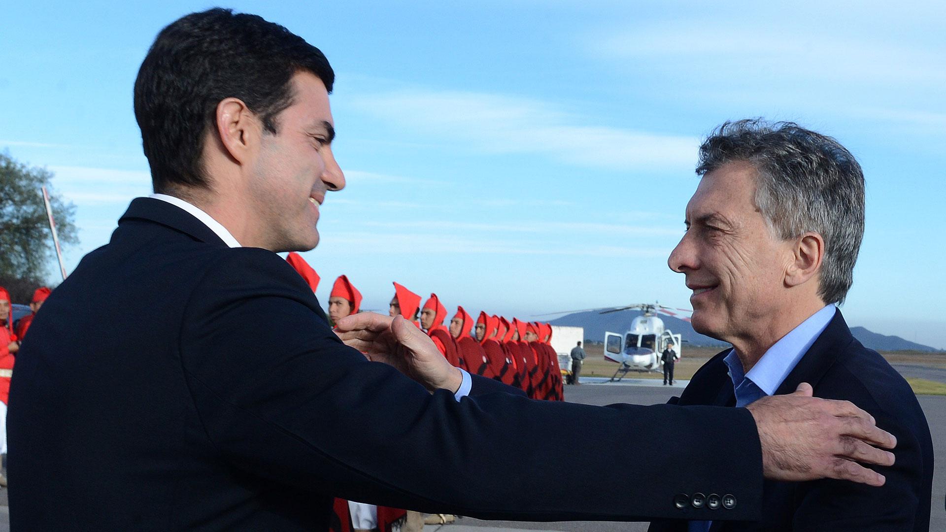 Urtubey junto al presidente Macri
