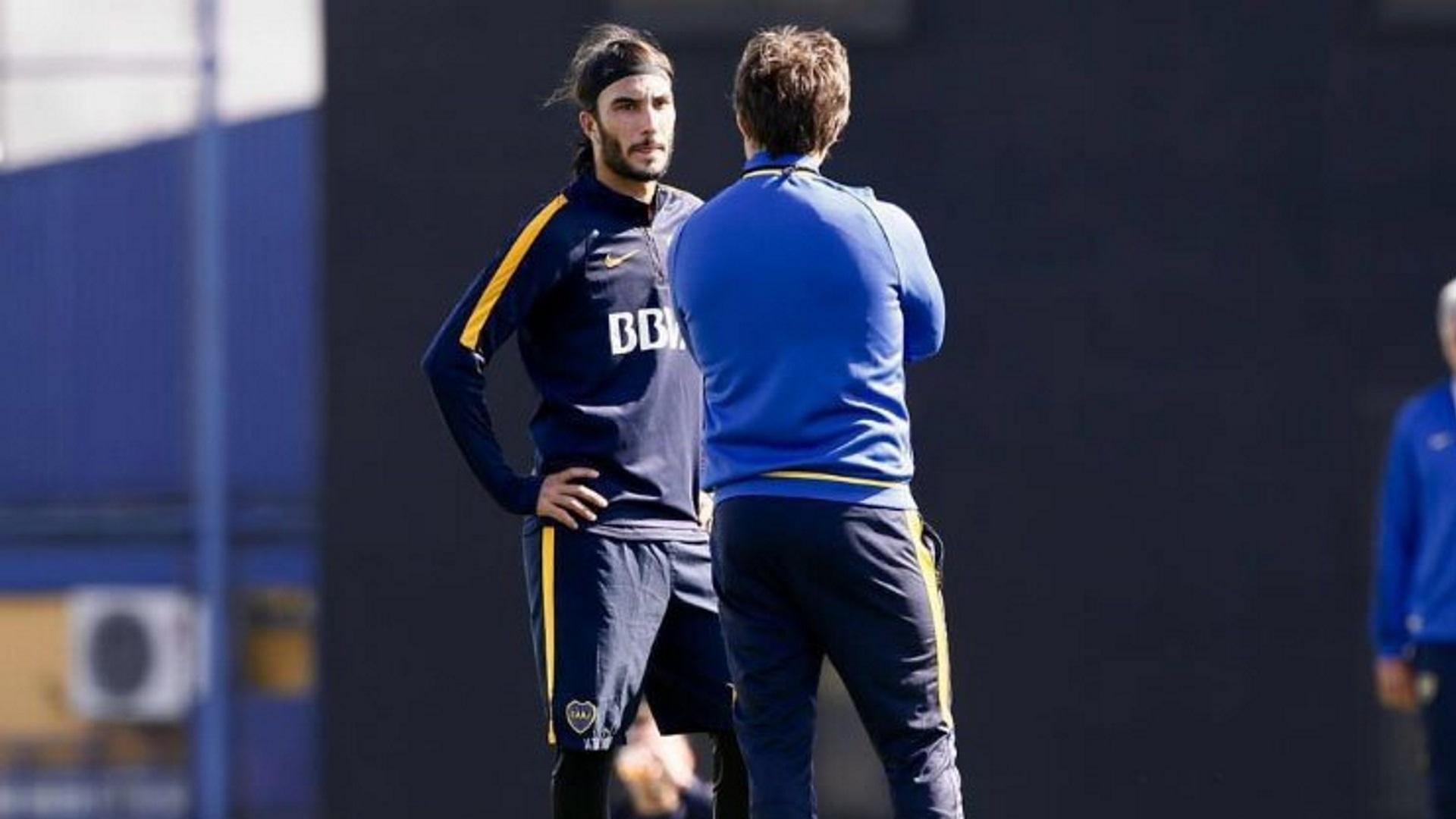 """""""Me dijeron que en eso no se metían"""", contó Pérez sobre la opinión de los entrenadores (Boca Oficial)"""