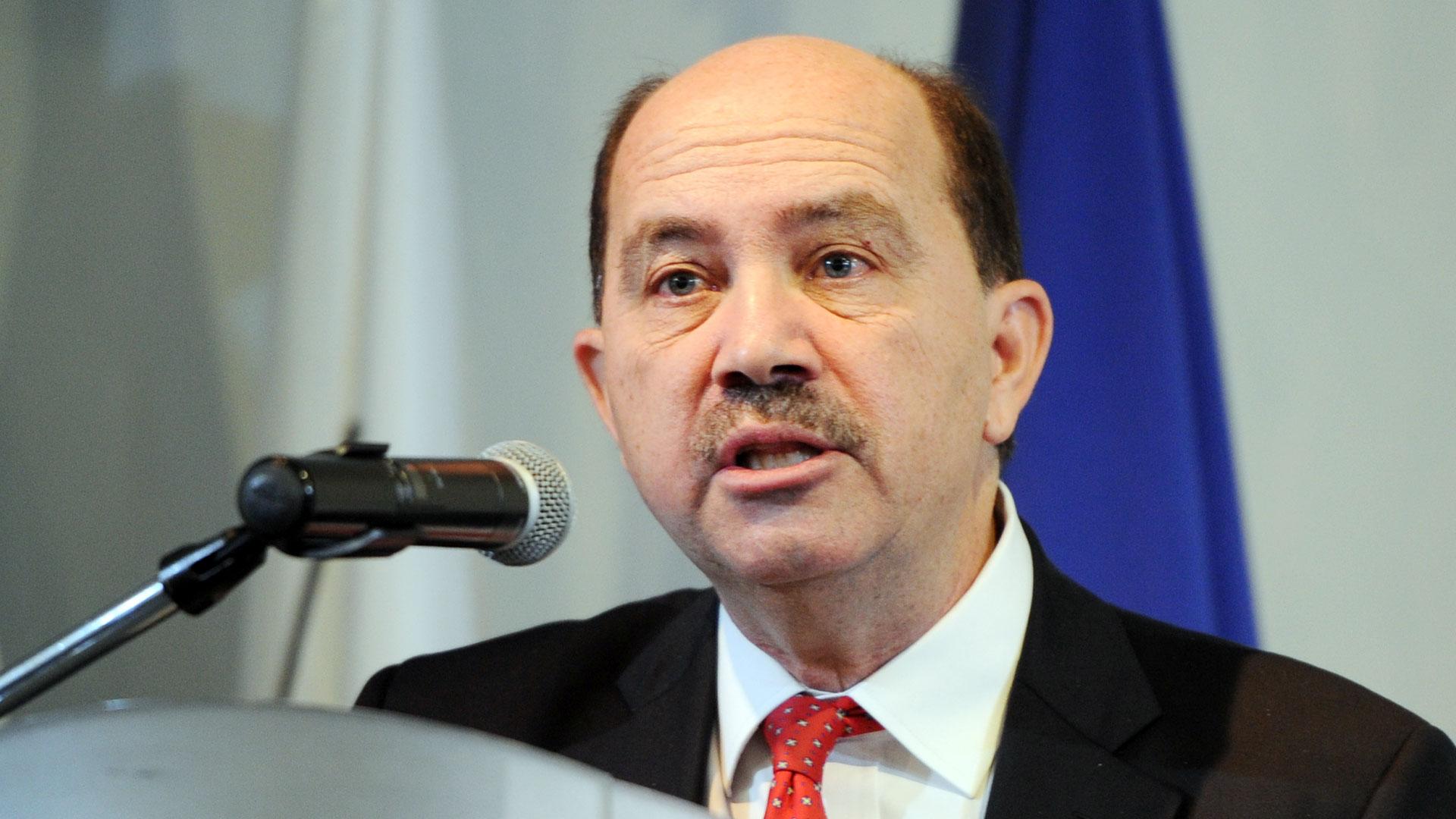 El presidente del Banco Ciudad, Javier Ortíz Batalla