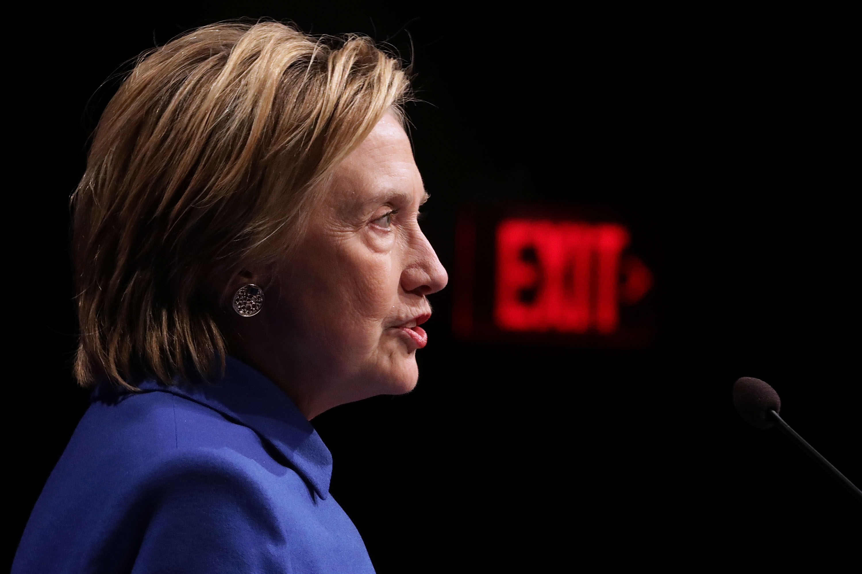 La candidata demócrata a la presidencia de los Estados Unidos, Hillary Clinton. (AFP)
