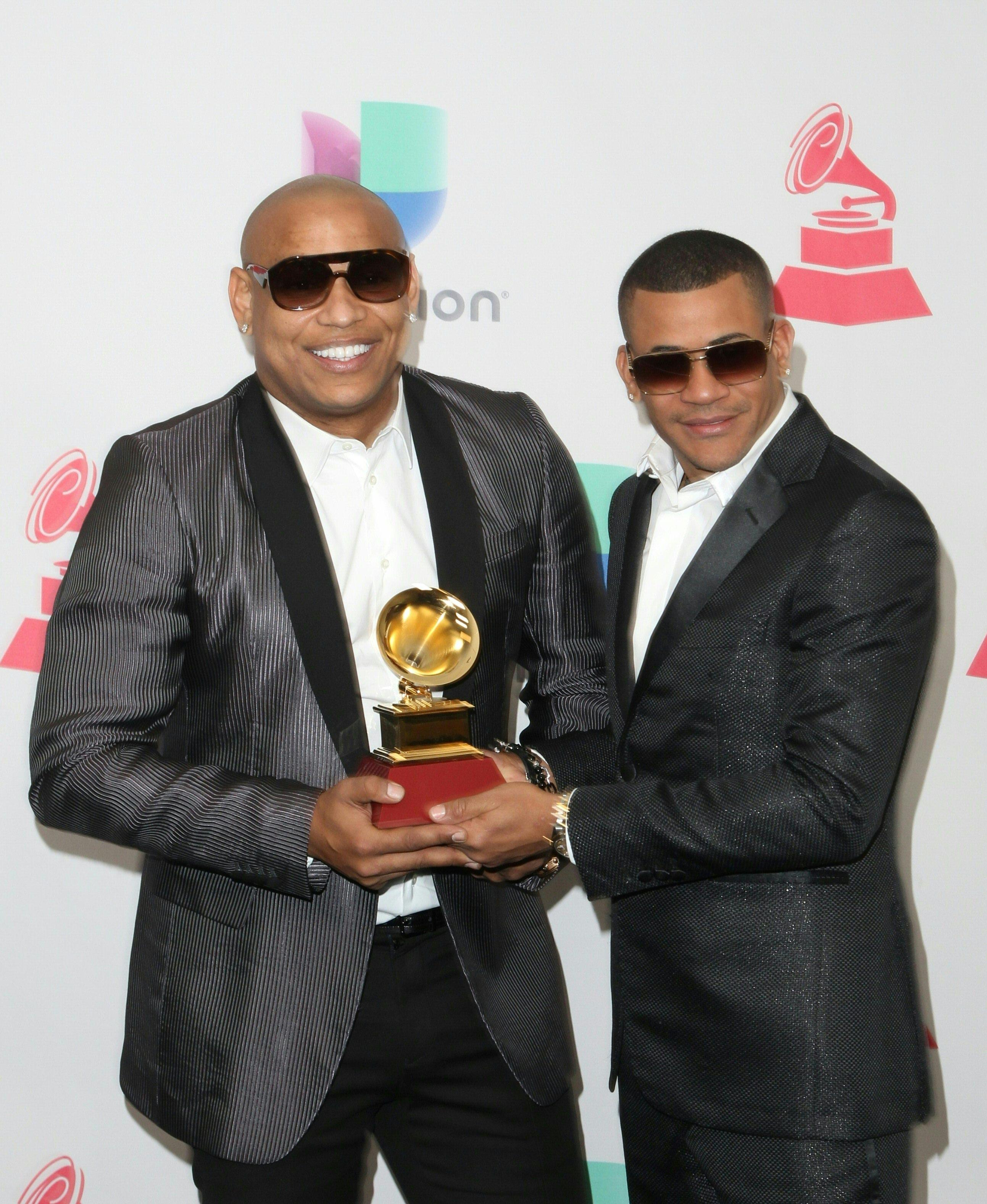 El dúo de Gente de Zona se alzó con el premio a mejor álbum de fusión tropical (AFP)