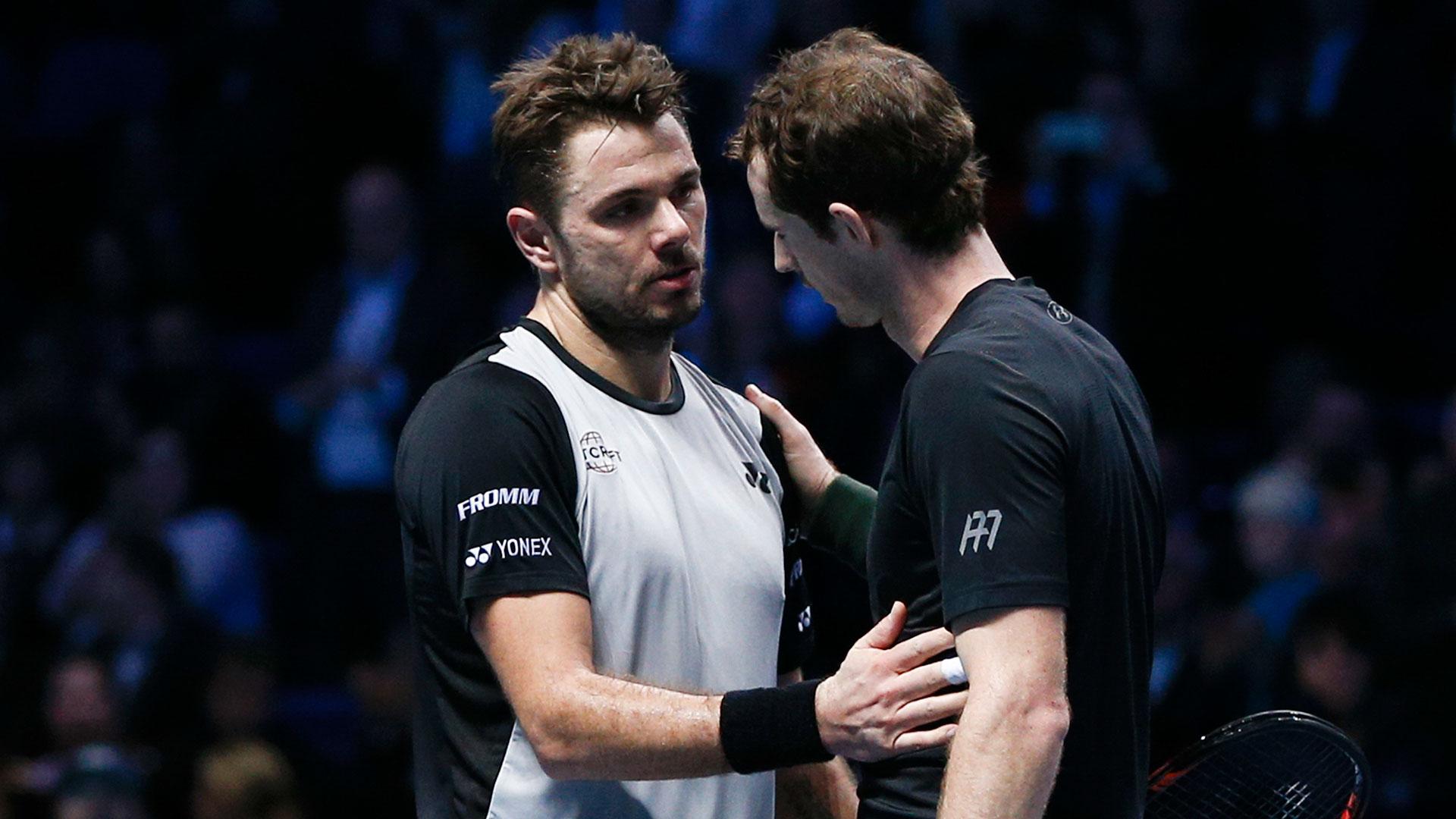 Murray y Wawrinka animarán la otra semifinal (AFP)
