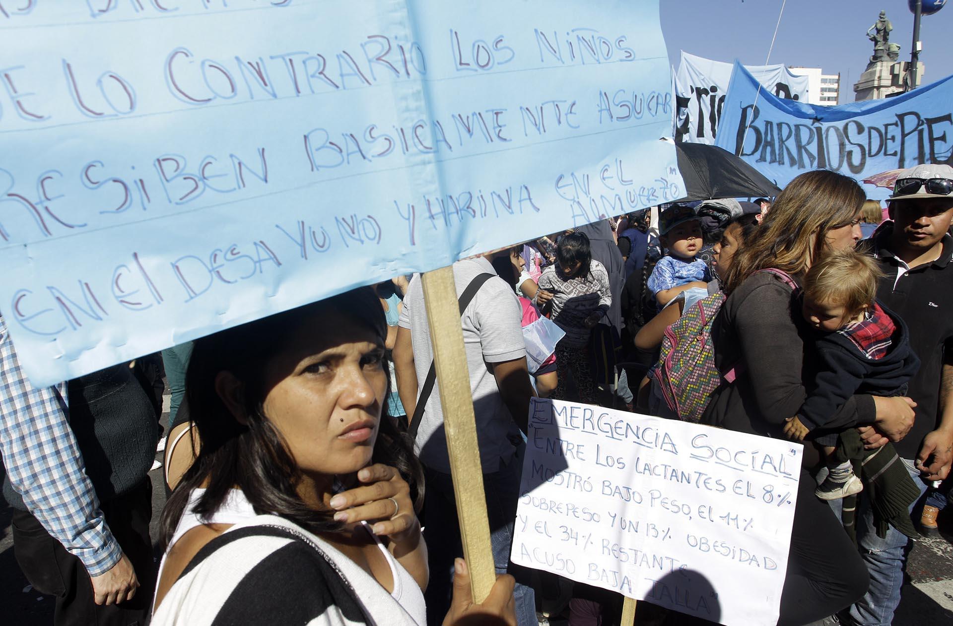 """La convocatoria aglutinó a trabajadores bajo el régimen formal, y a aquellos que trabajan """"en negro"""""""