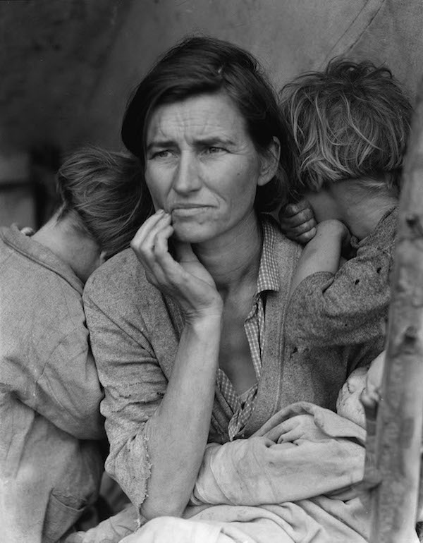 Migrant Mother, Nipomo, San Luis Obispo County, California, 1936(Dorothea Lange/Library of Congress)