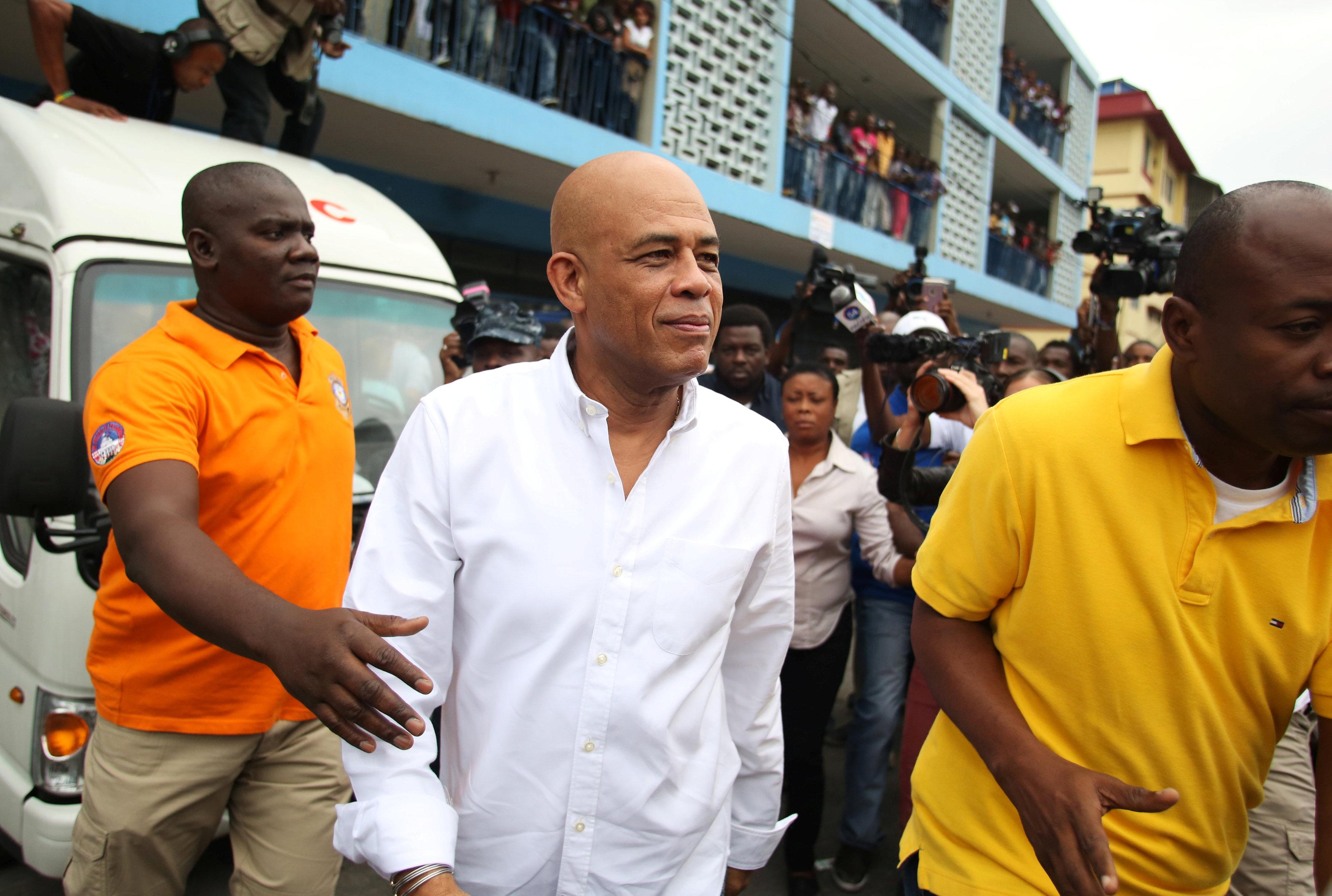 Michel Martelly, presidente de Haití entre 2011 y 2016 (AP)