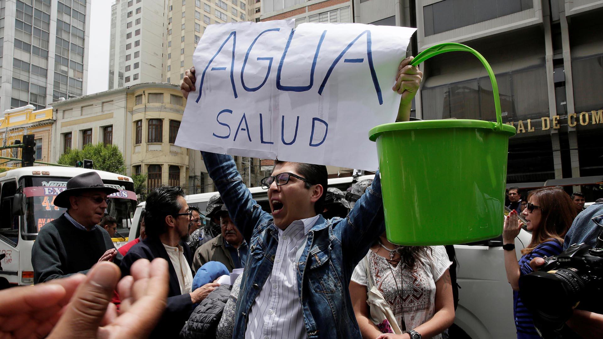 """El presidente Morales rechazó esas suposiciones y afirmó que """"no hay ninguna empresa china en toda esta región"""", ni ninguna firma minera que esté desviando el agua destinada a La Paz (Reuters)"""
