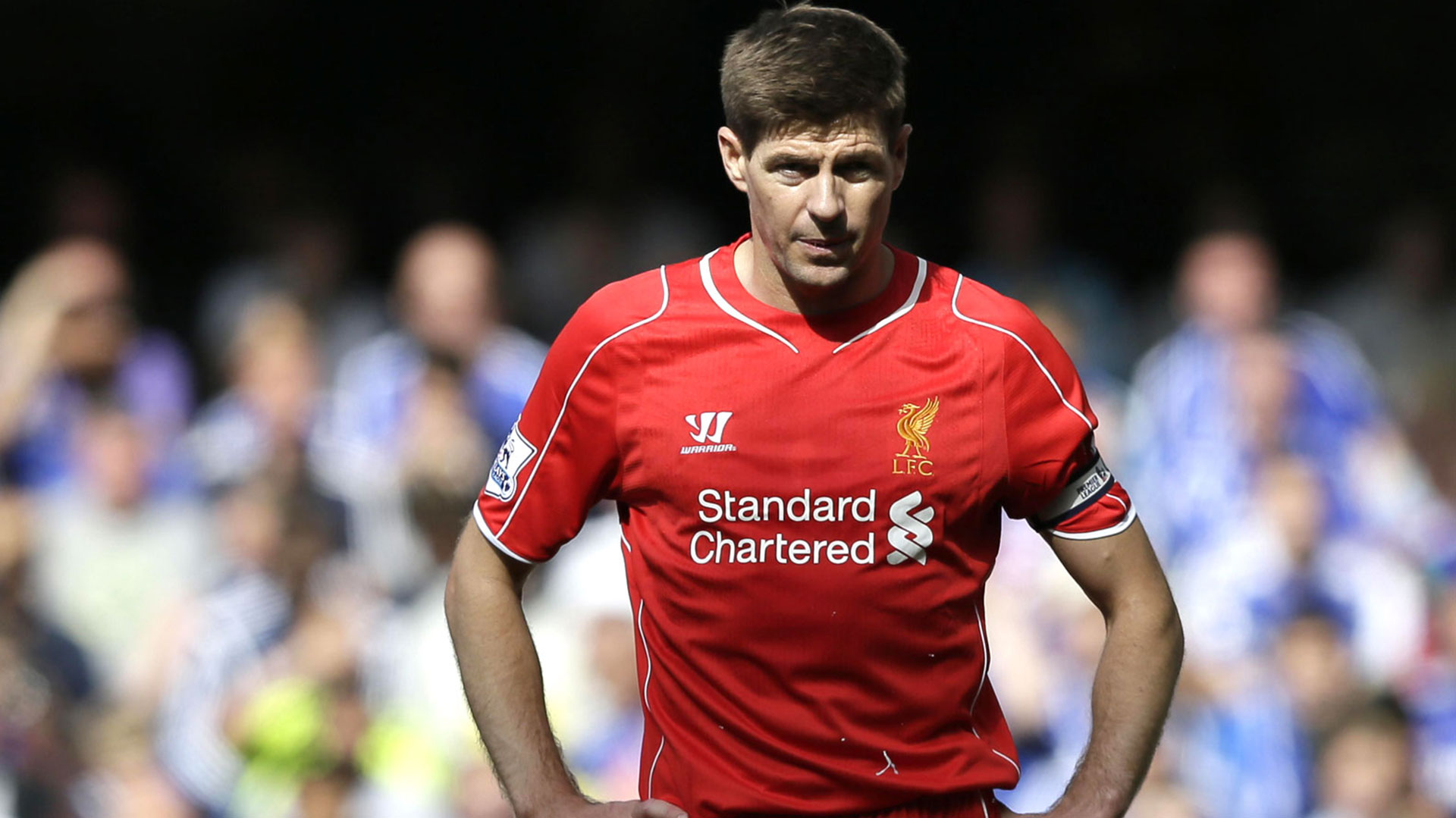 """Steven Gerrard, uno de los que se vieron afectados. En la """"Tragedia de Hillsborough"""" murió un primo suyo de 10 años (AP)"""